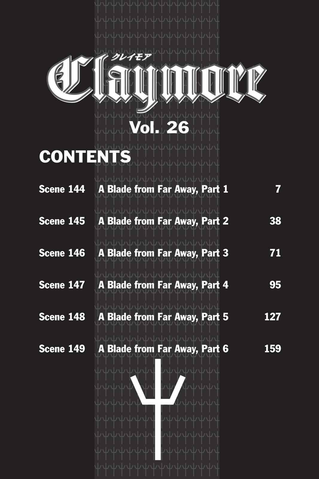 Claymore Chapter 144 Page 6
