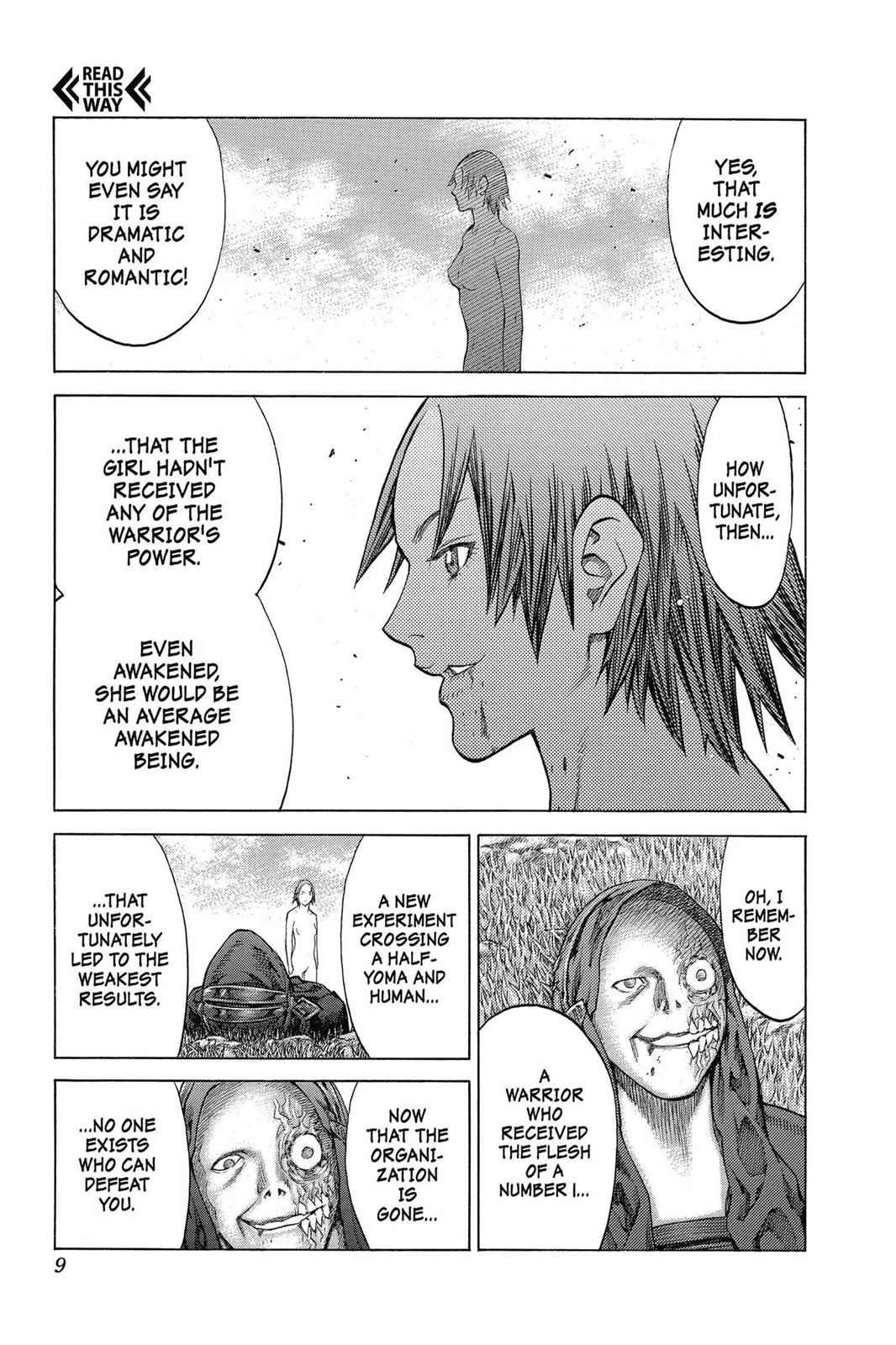 Claymore Chapter 144 Page 9