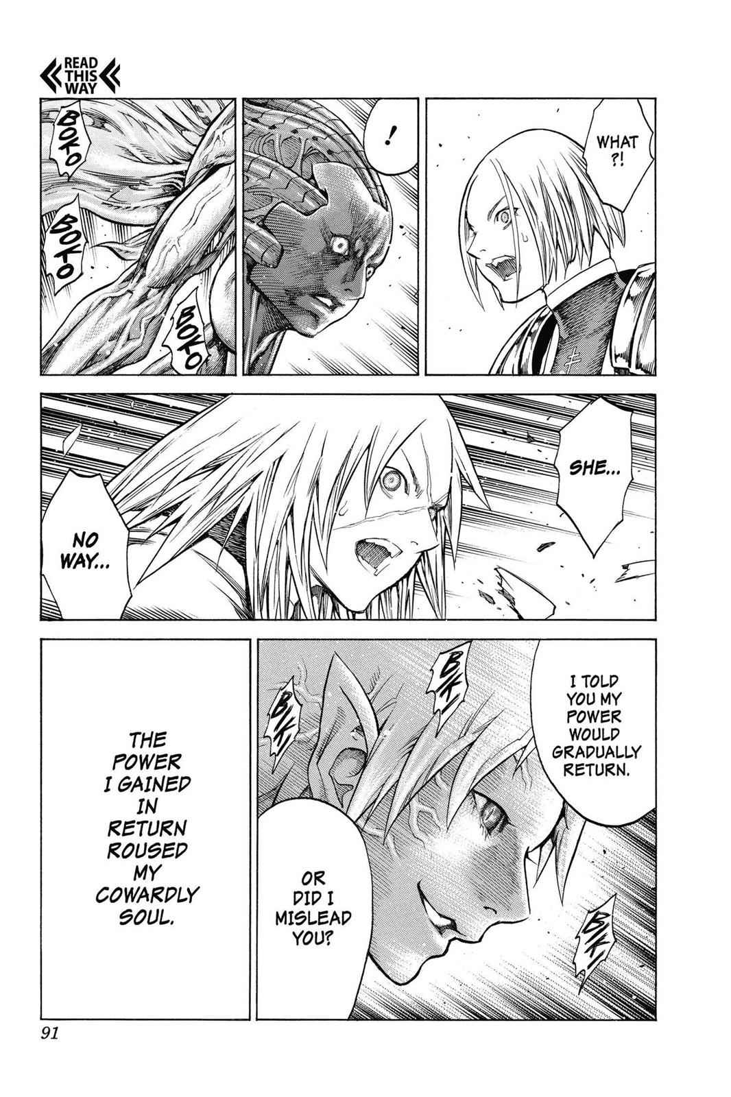 Claymore Chapter 146 Page 19