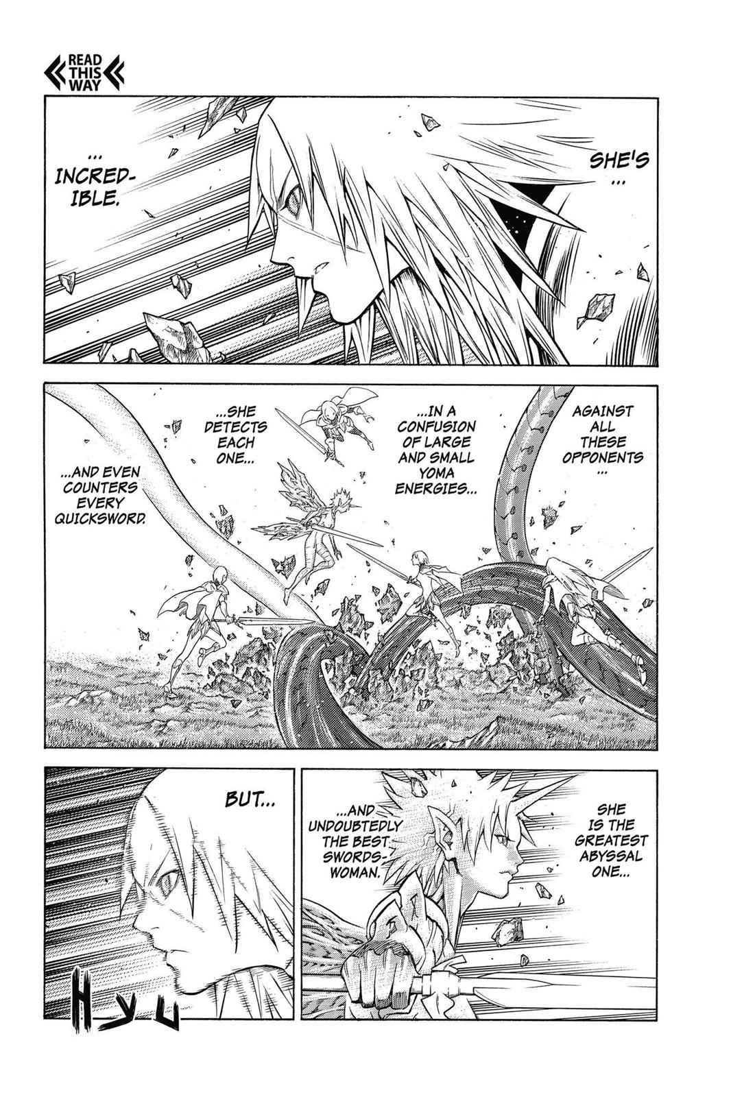 Claymore Chapter 147 Page 12