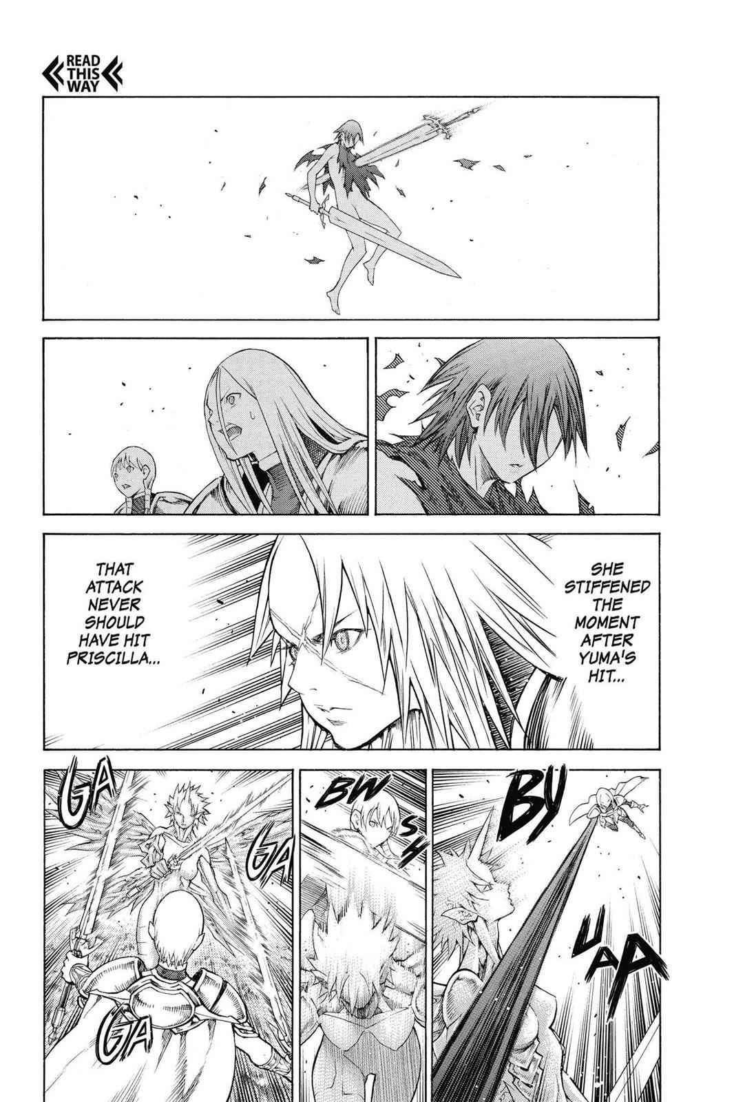 Claymore Chapter 147 Page 14