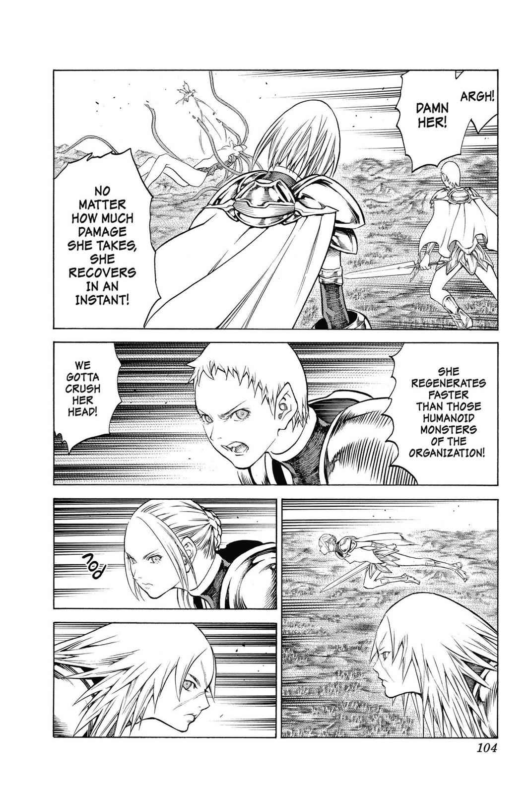 Claymore Chapter 147 Page 9