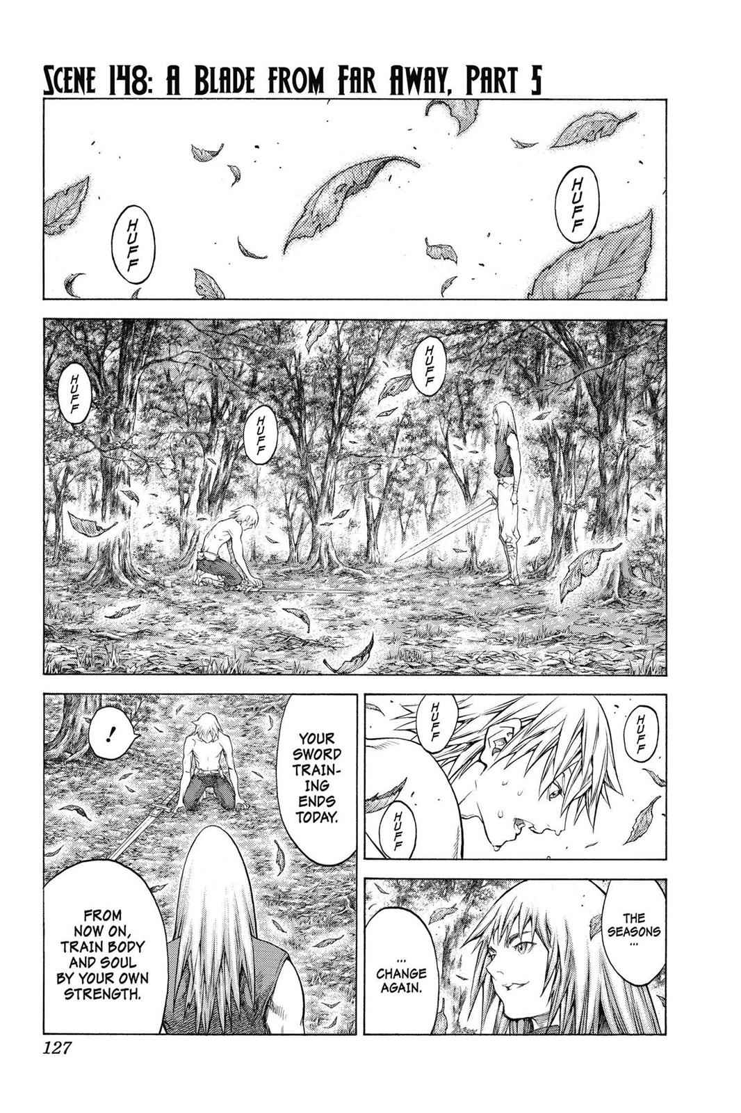 Claymore Chapter 148 Page 1