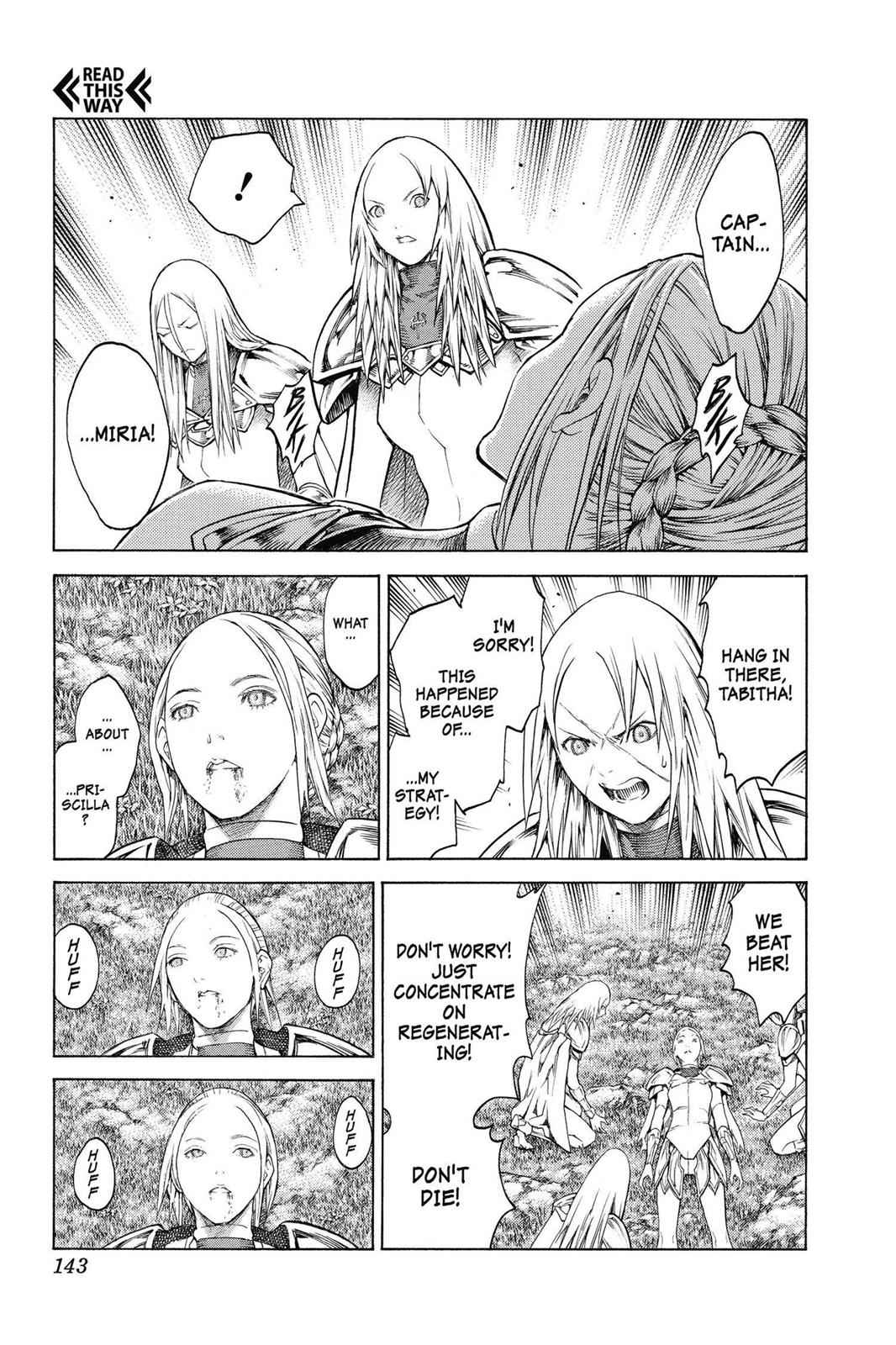Claymore Chapter 148 Page 14