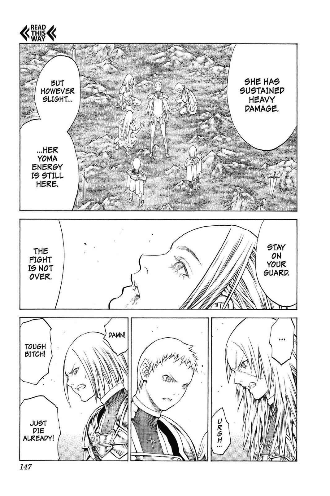 Claymore Chapter 148 Page 18
