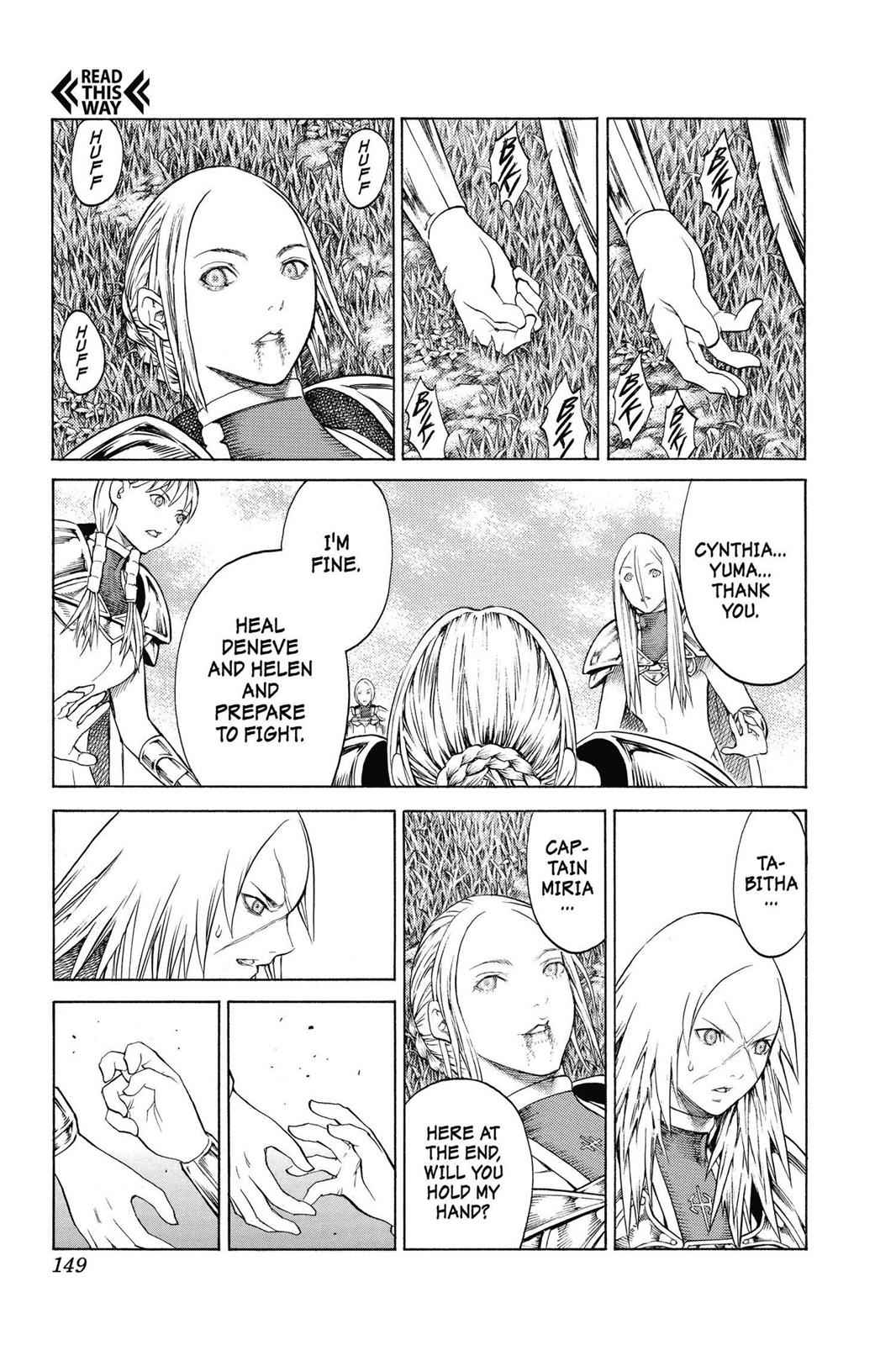 Claymore Chapter 148 Page 20