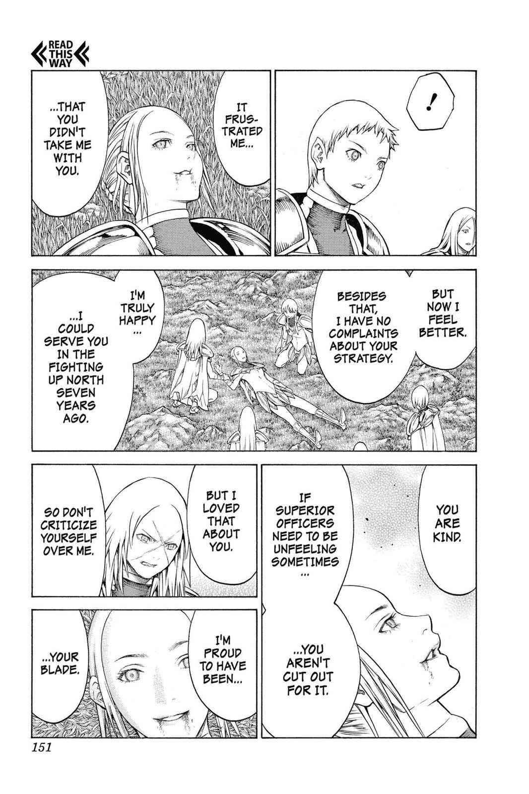 Claymore Chapter 148 Page 22