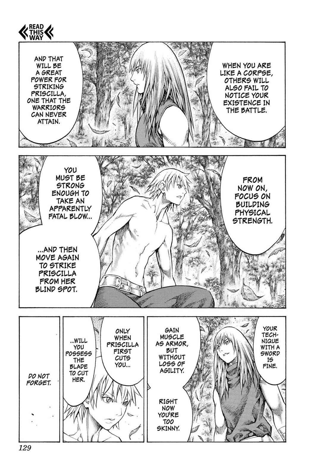 Claymore Chapter 148 Page 3