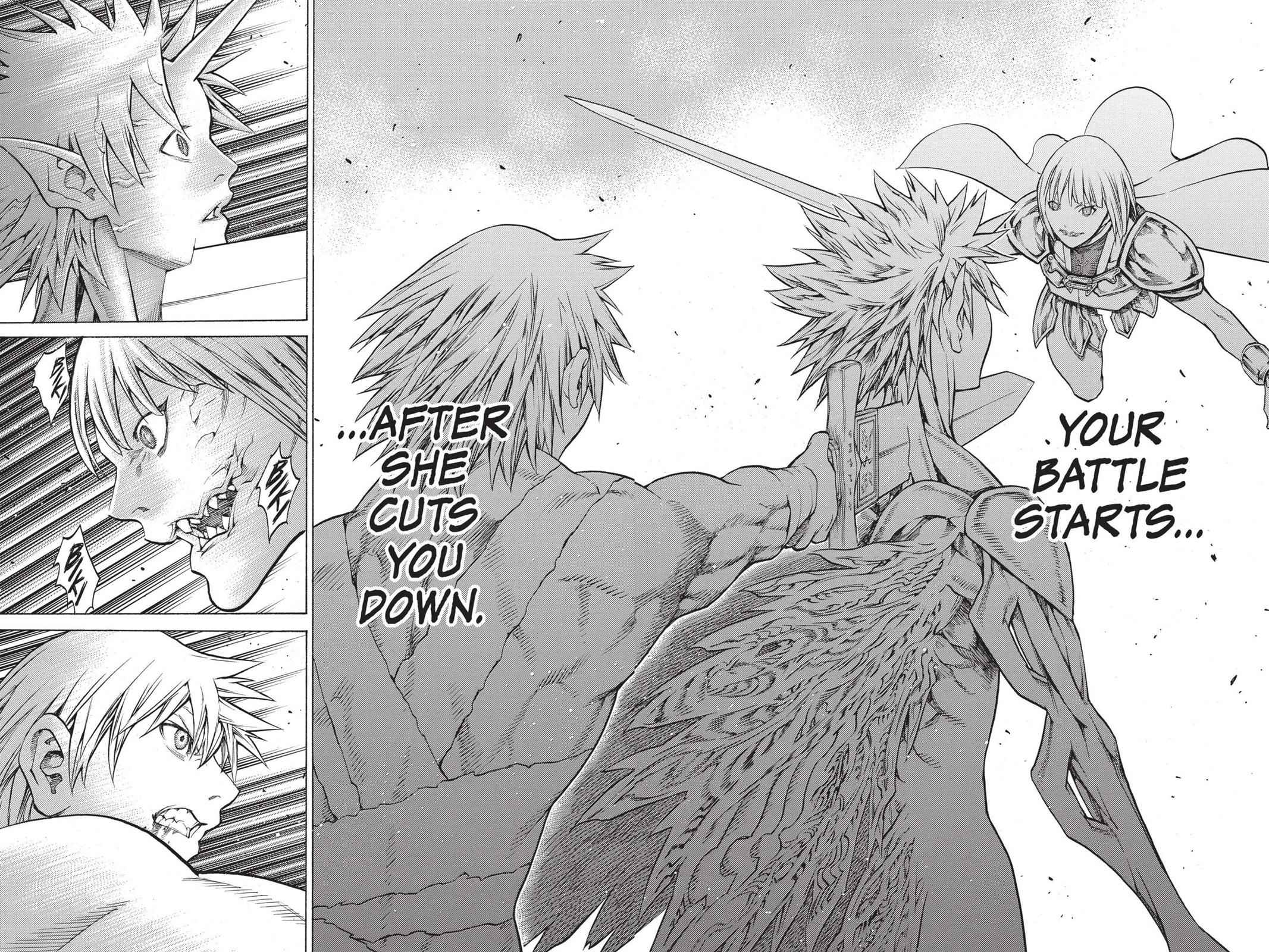 Claymore Chapter 148 Page 4