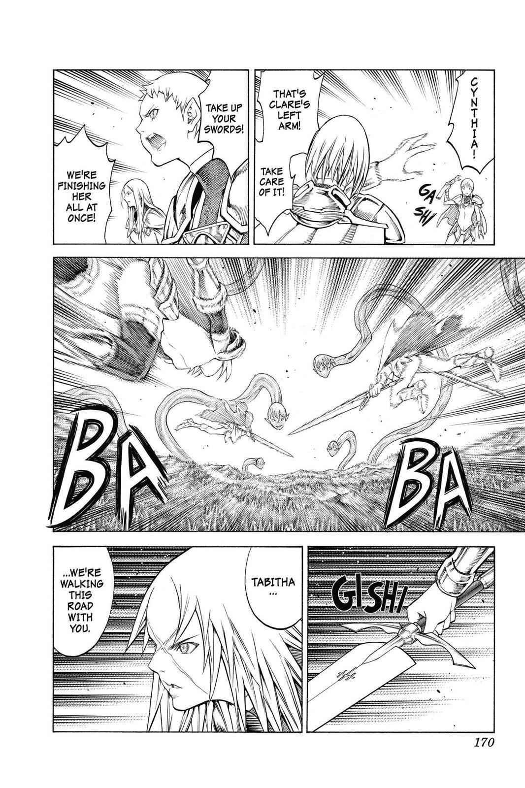Claymore Chapter 149 Page 12