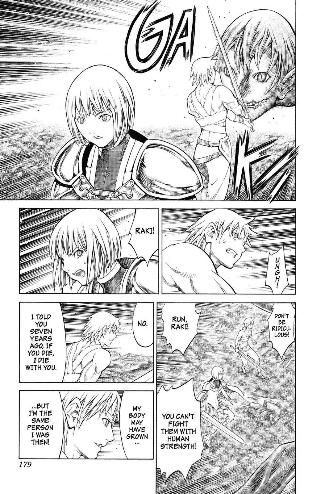 Claymore Chapter 149 Page 21