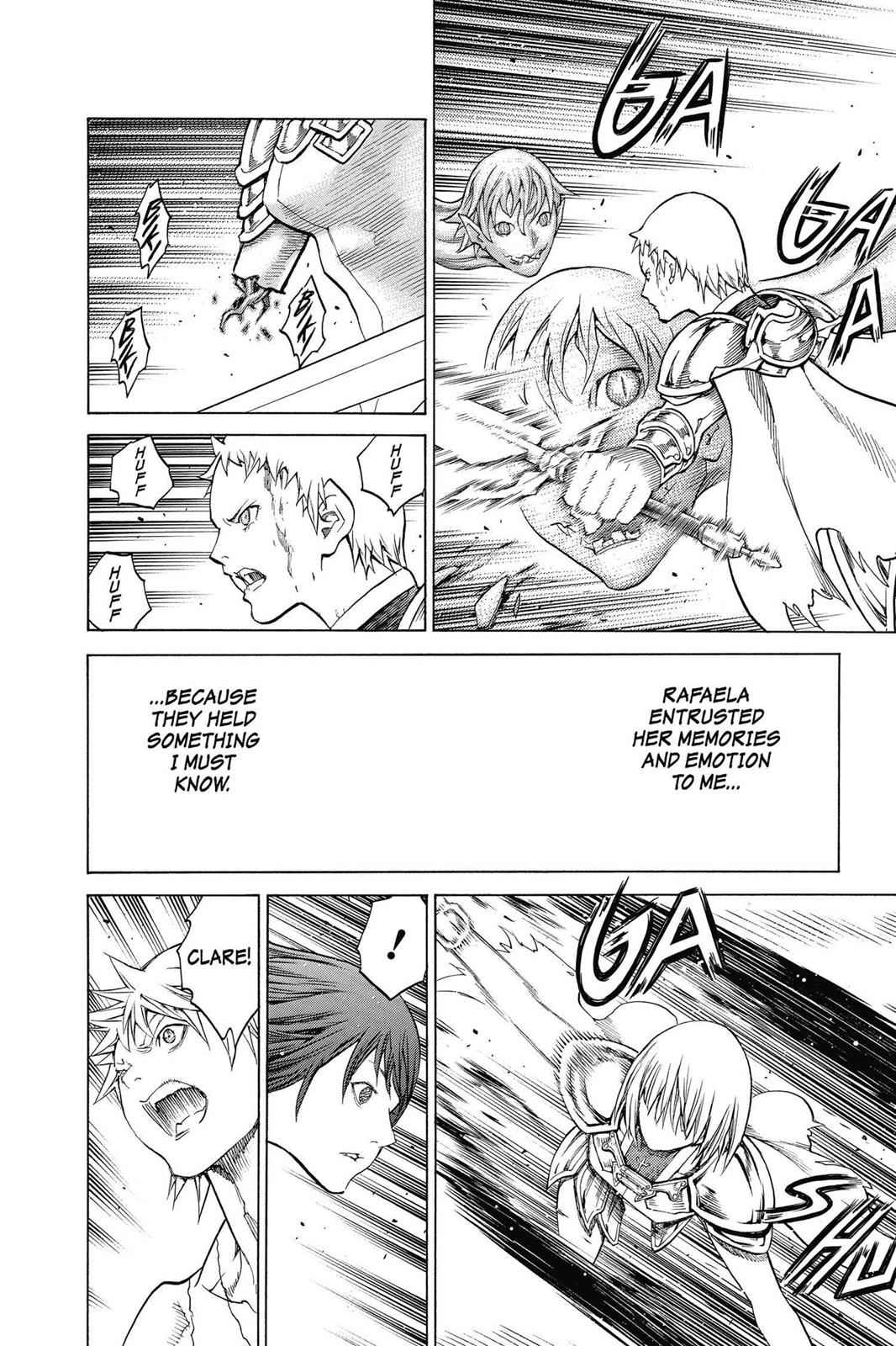 Claymore Chapter 149 Page 29