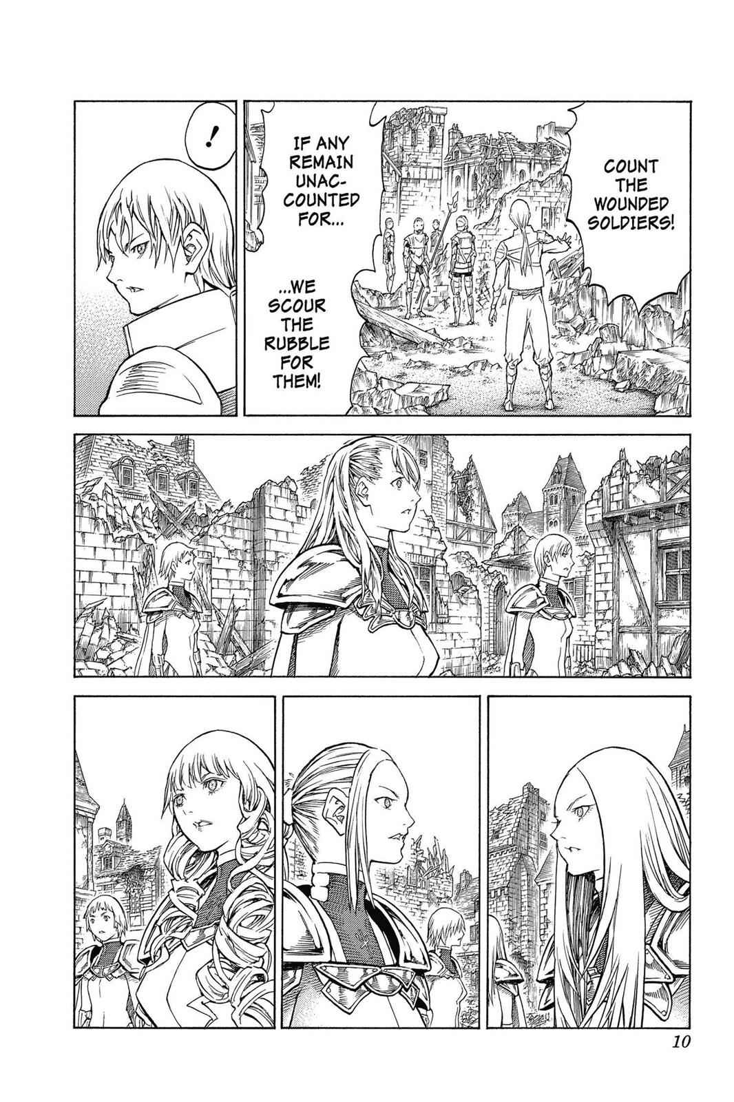 Claymore Chapter 150 Page 10
