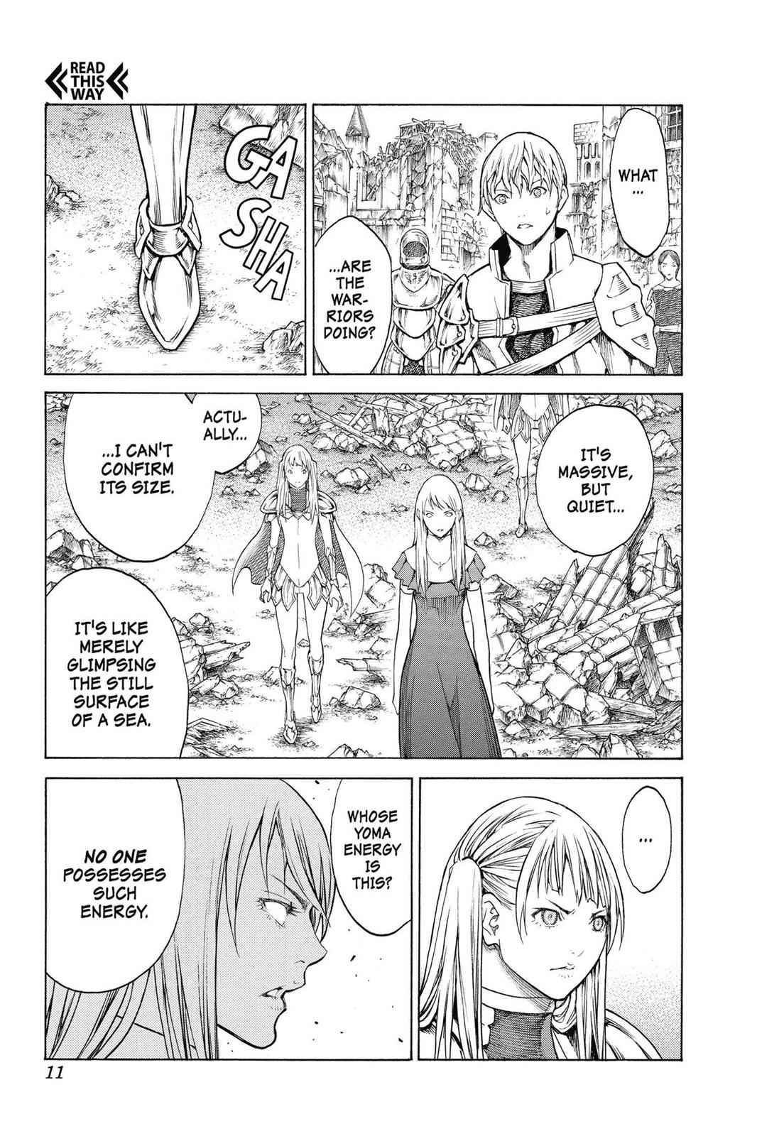 Claymore Chapter 150 Page 11