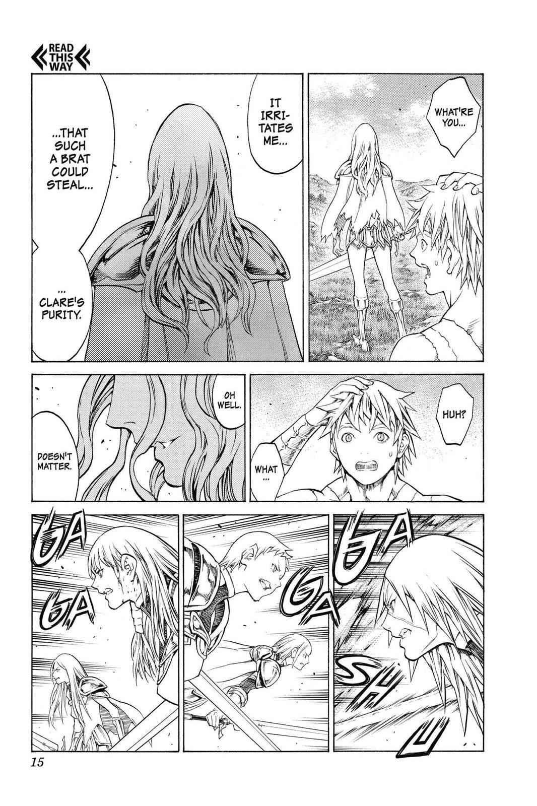Claymore Chapter 150 Page 14