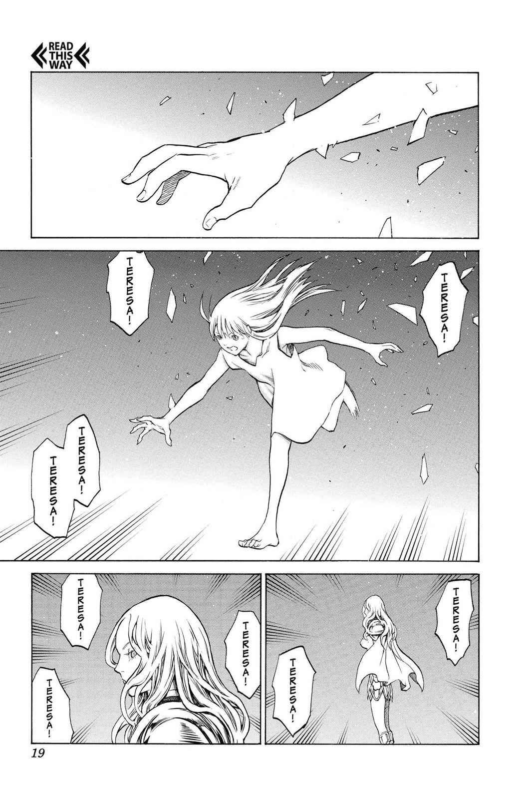 Claymore Chapter 150 Page 17