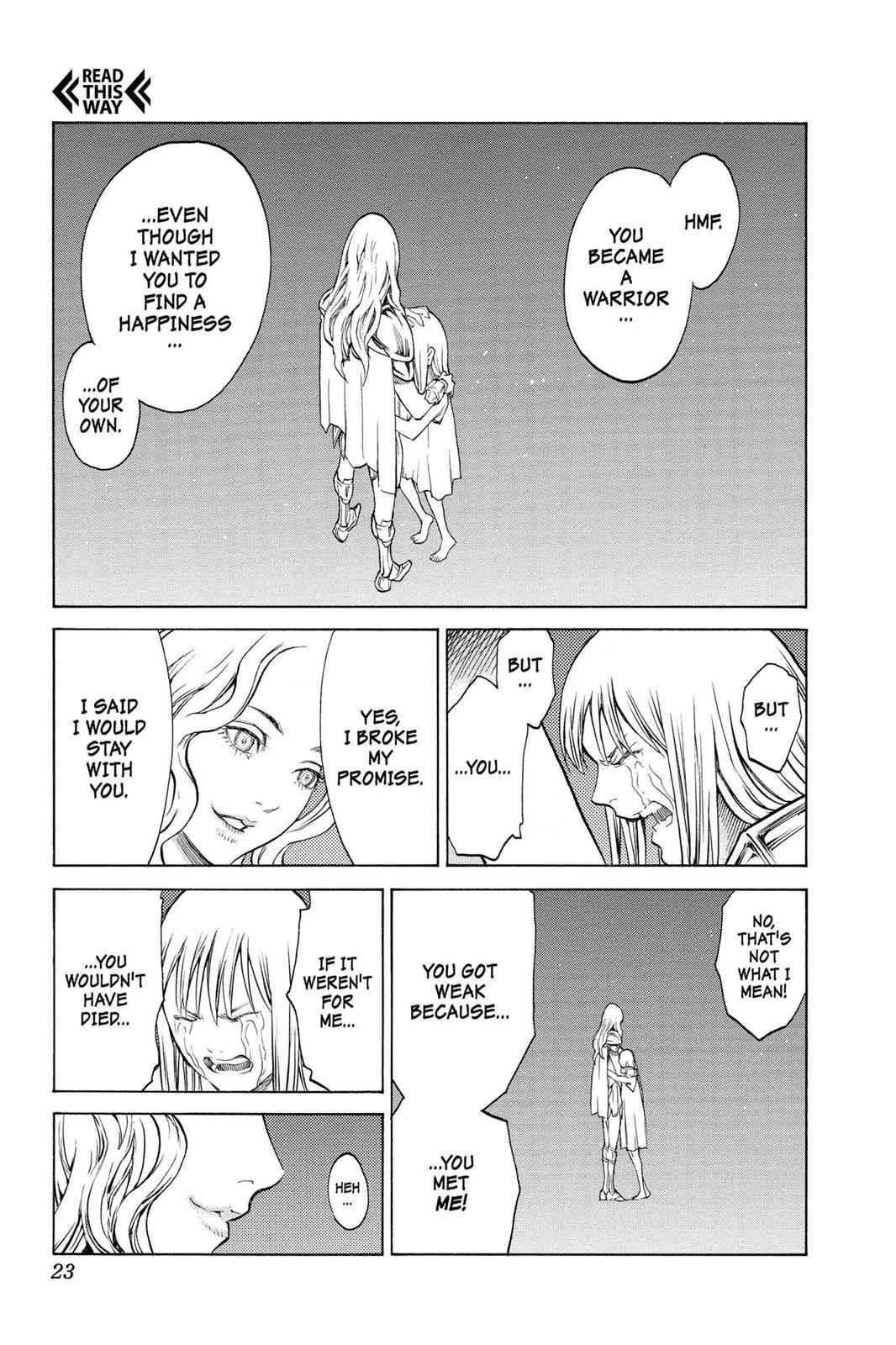 Claymore Chapter 150 Page 20