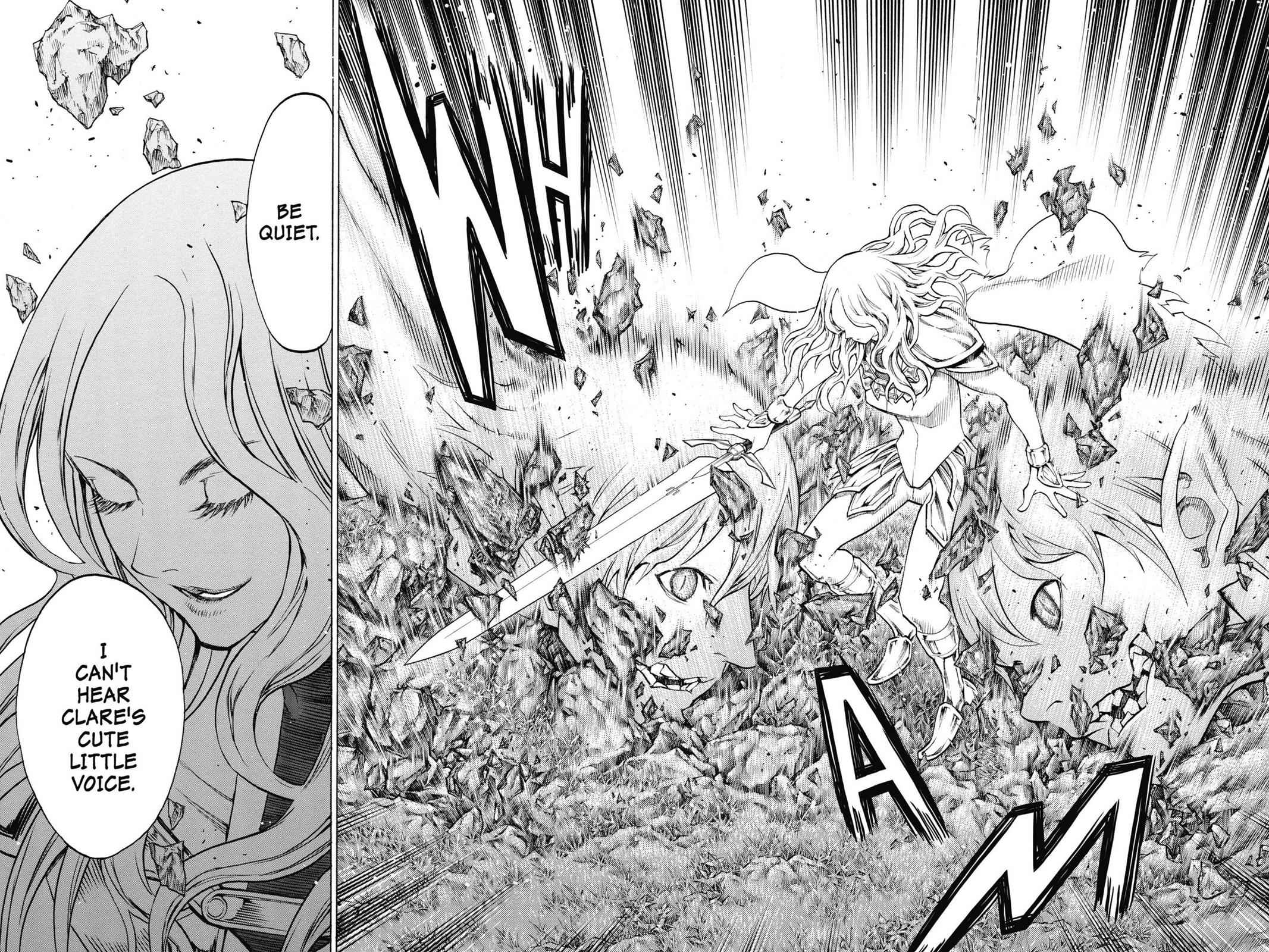Claymore Chapter 150 Page 25