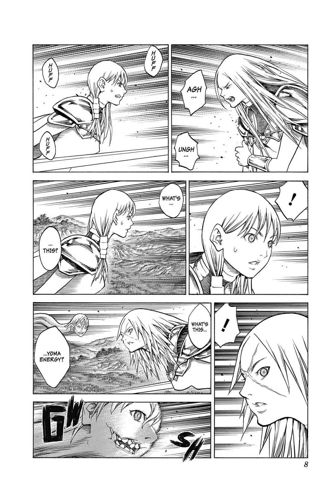 Claymore Chapter 150 Page 8