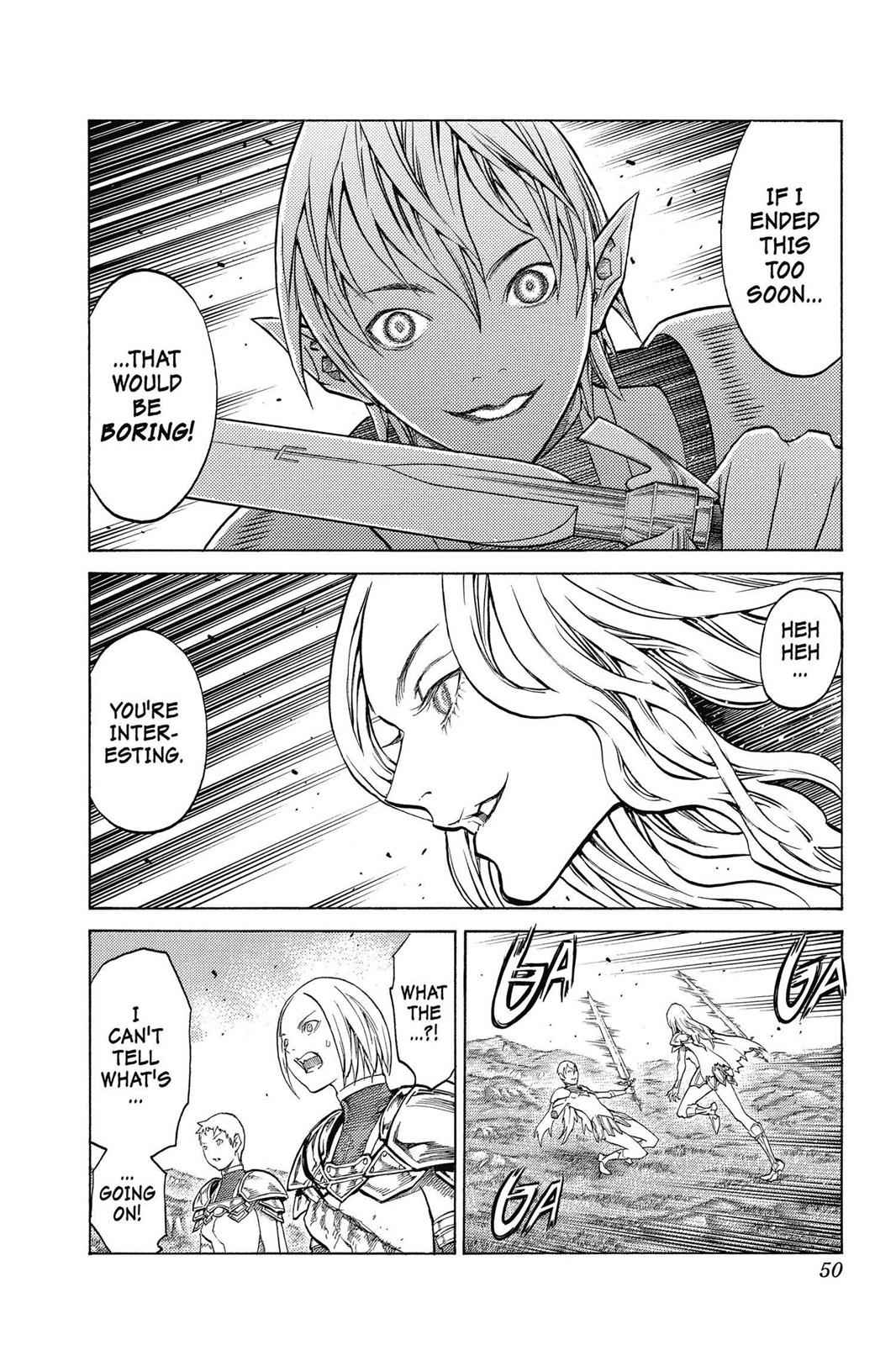 Claymore Chapter 151 Page 18