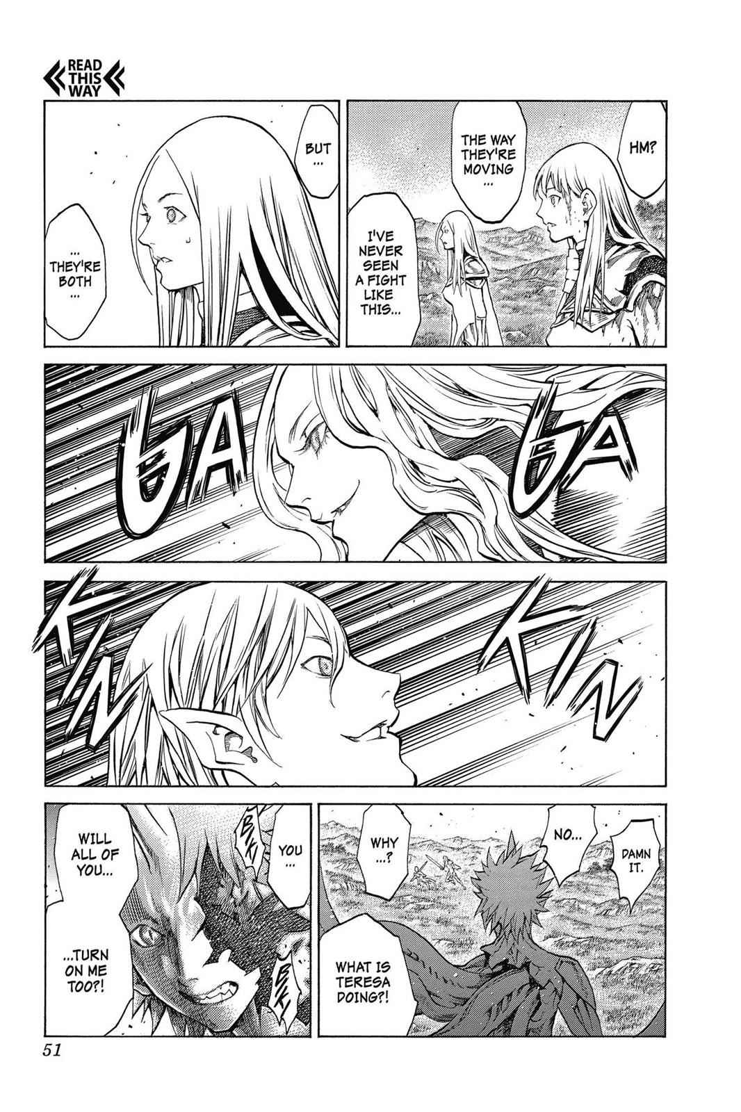 Claymore Chapter 151 Page 19
