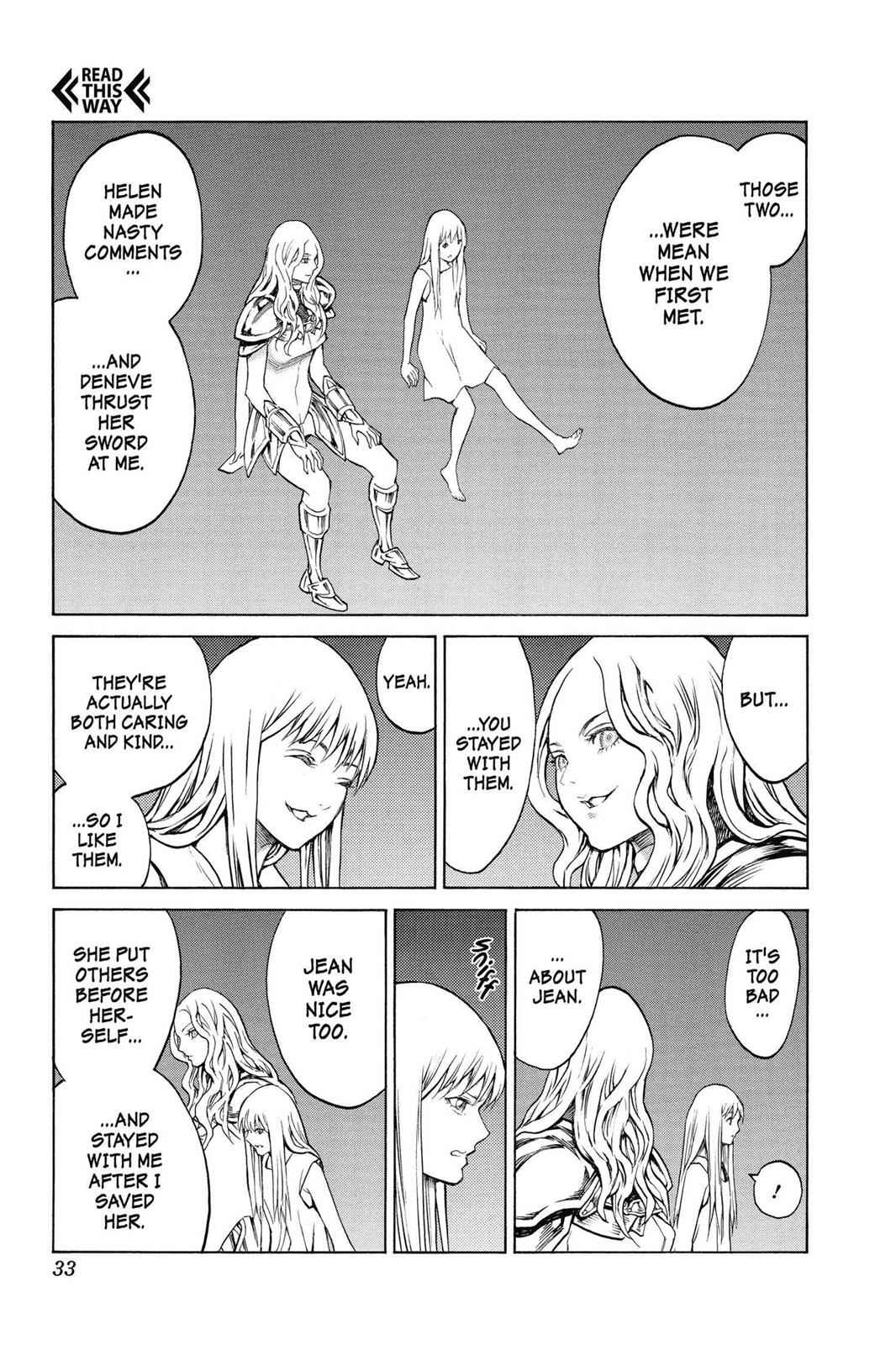 Claymore Chapter 151 Page 2