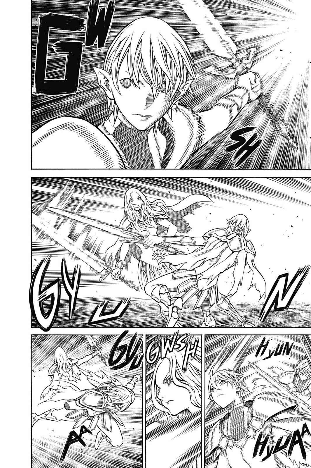 Claymore Chapter 151 Page 22