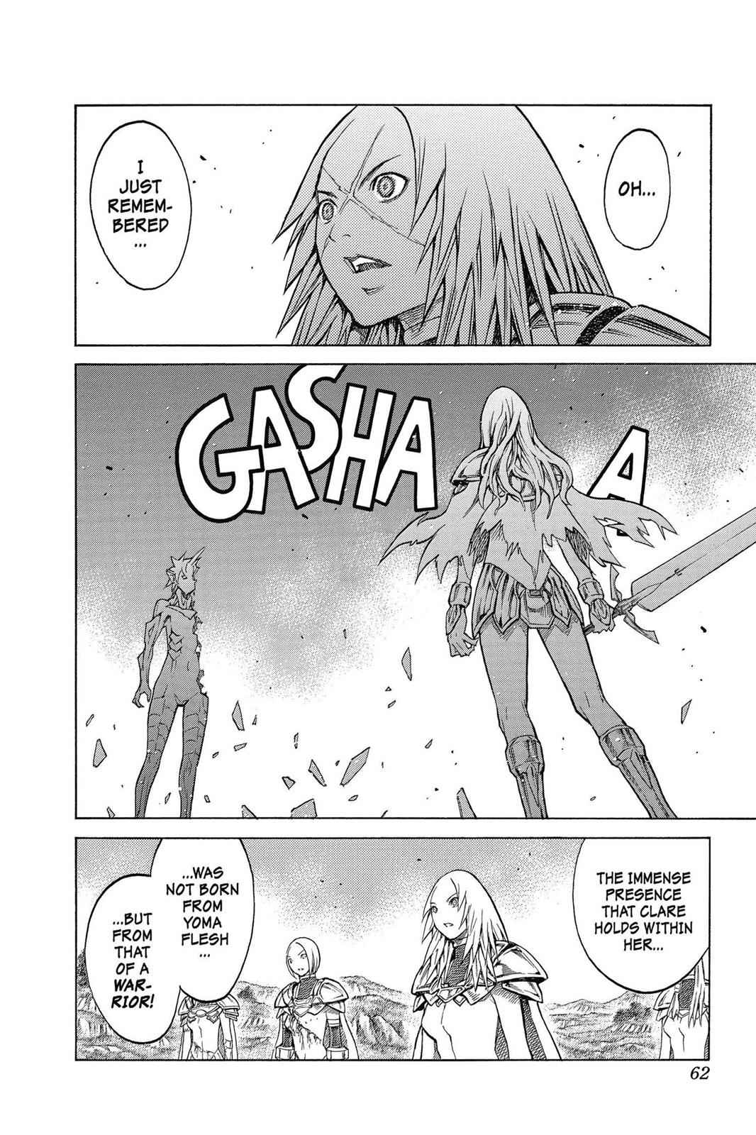 Claymore Chapter 151 Page 28