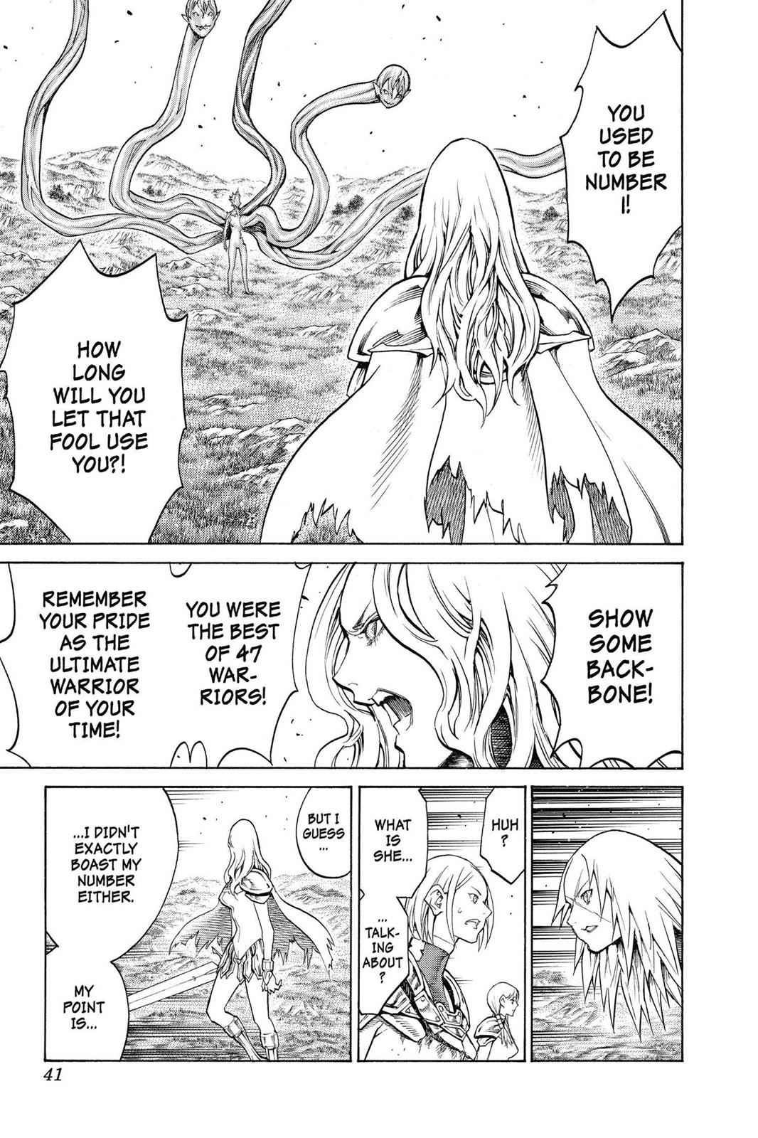 Claymore Chapter 151 Page 9