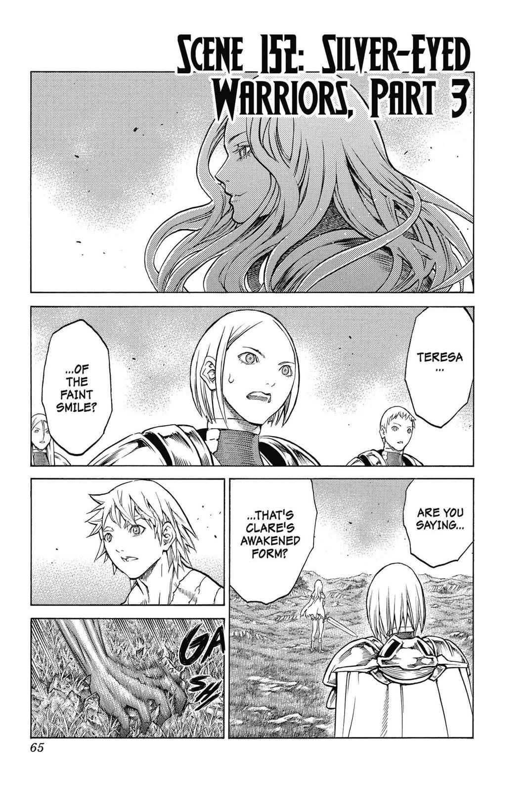 Claymore Chapter 152 Page 1