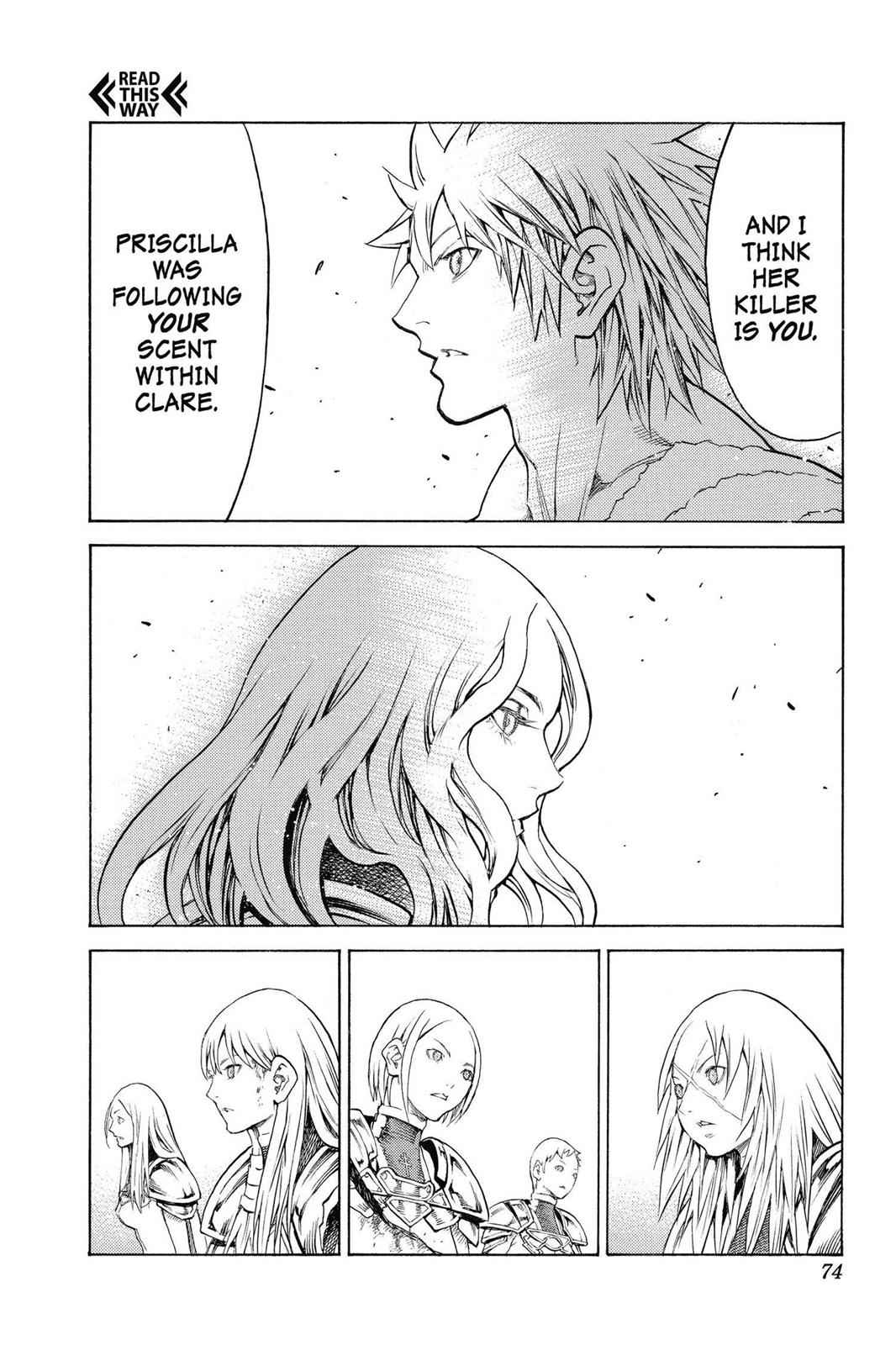 Claymore Chapter 152 Page 10
