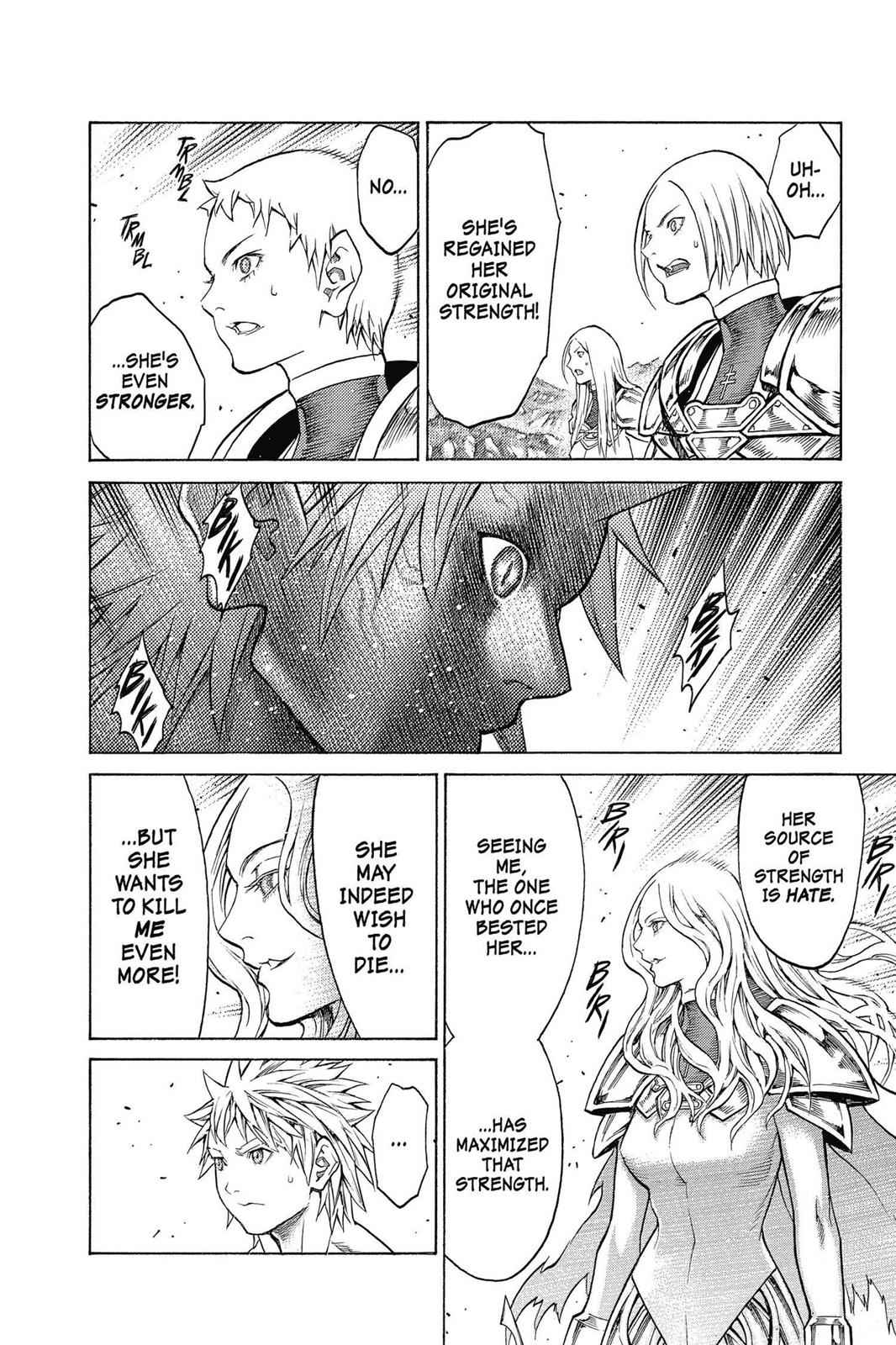 Claymore Chapter 152 Page 12