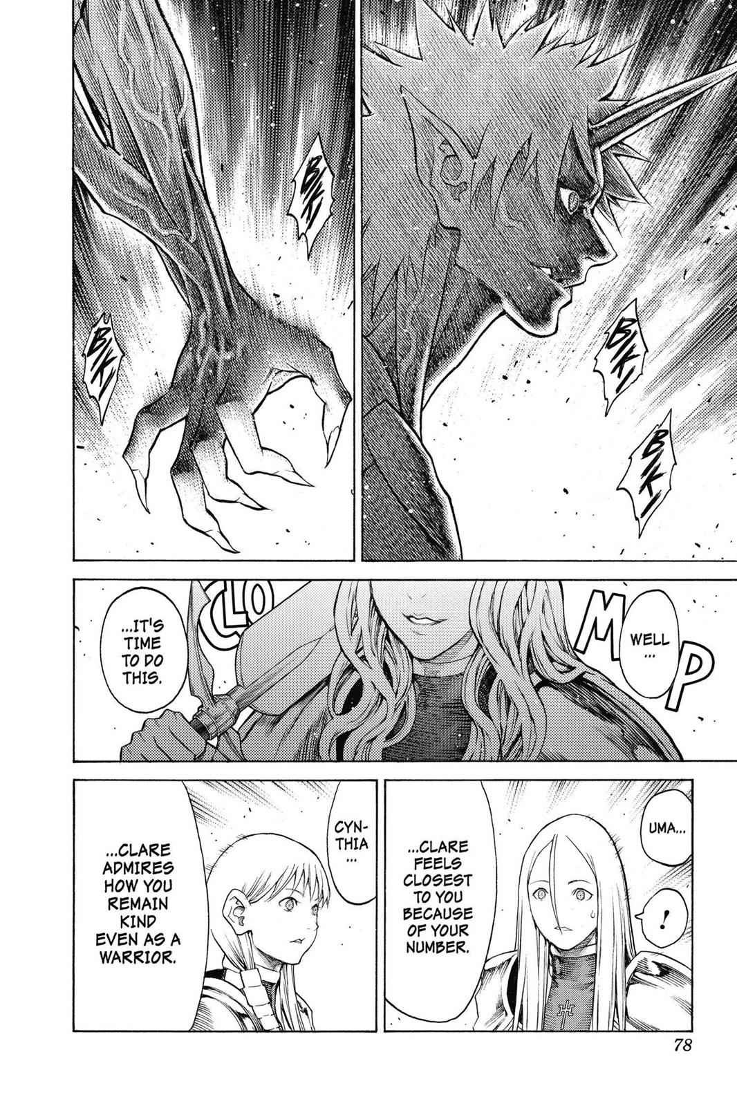 Claymore Chapter 152 Page 14