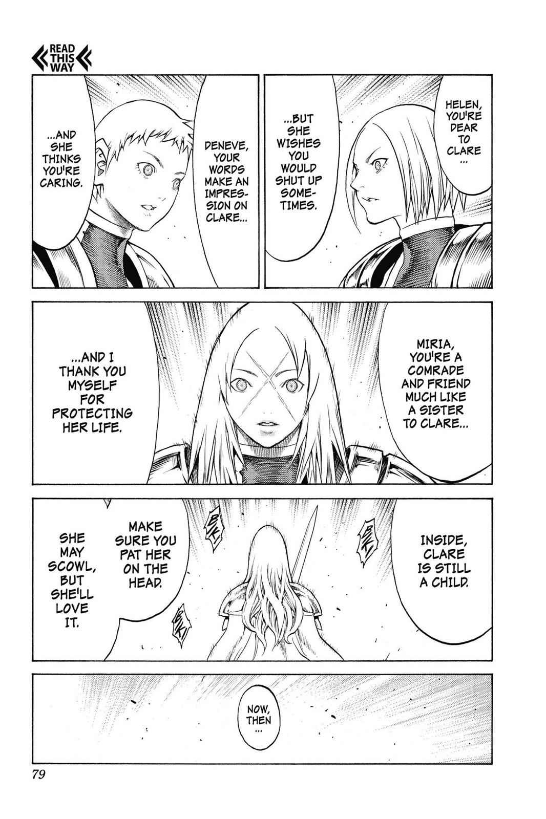 Claymore Chapter 152 Page 15