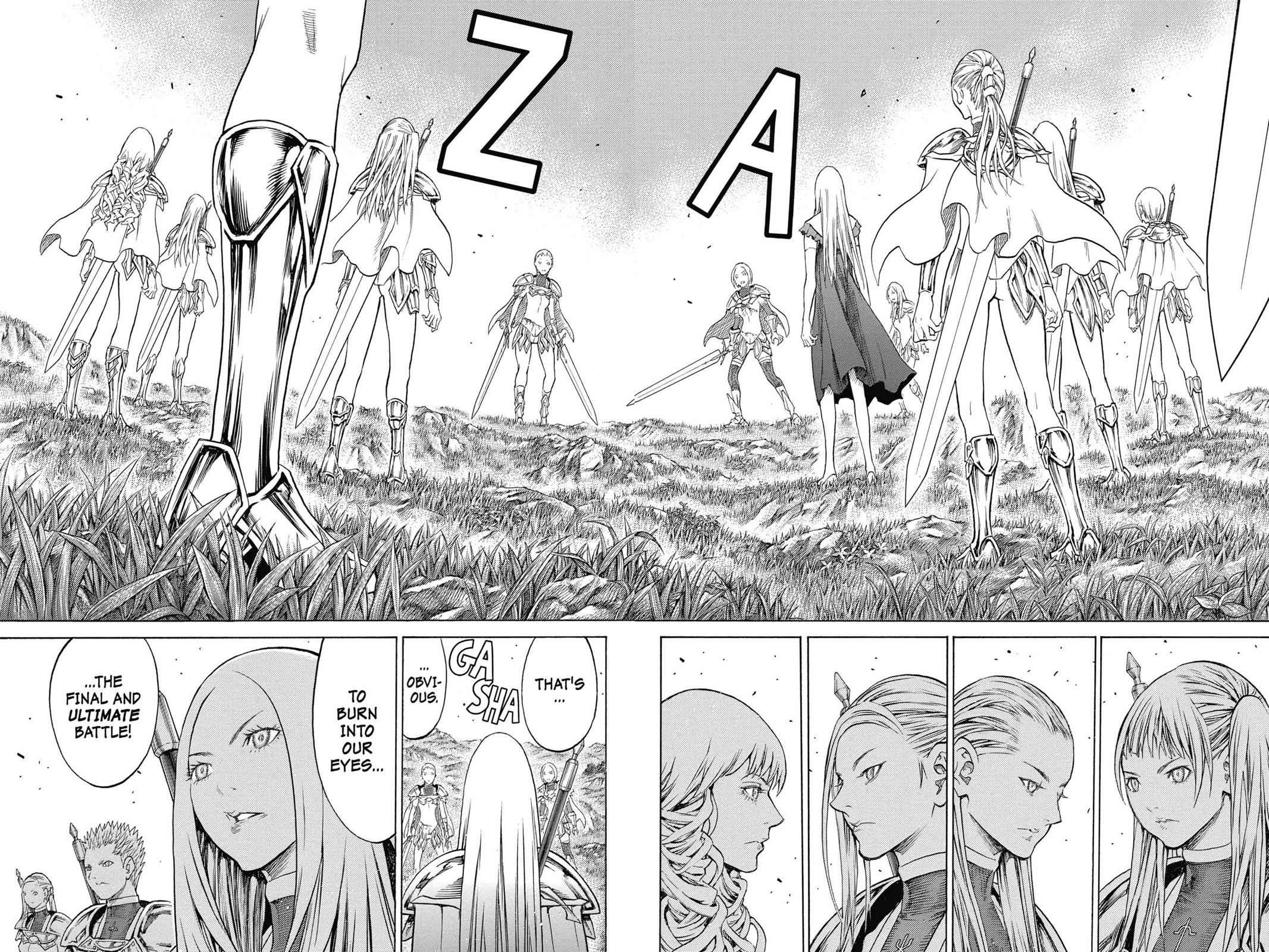Claymore Chapter 152 Page 27