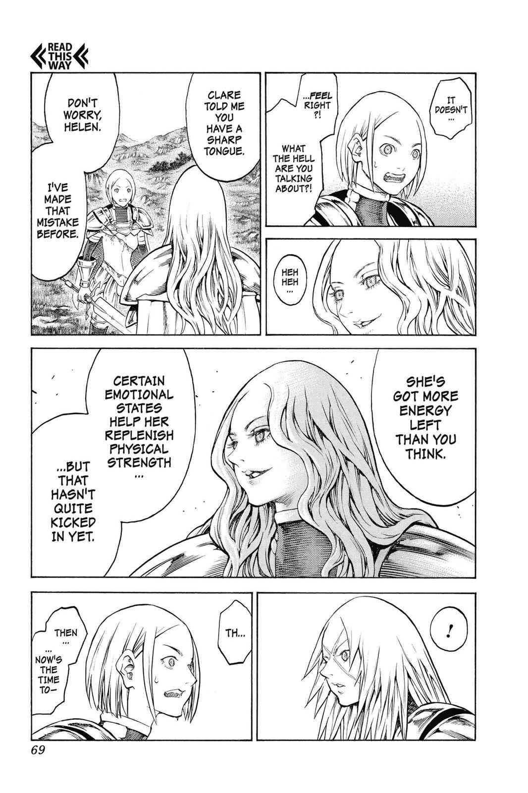Claymore Chapter 152 Page 5