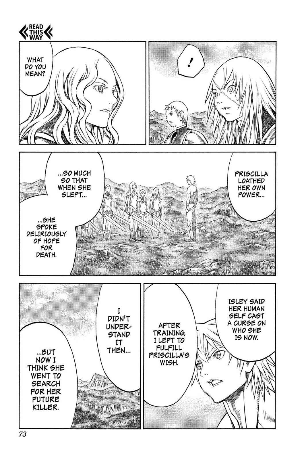 Claymore Chapter 152 Page 9