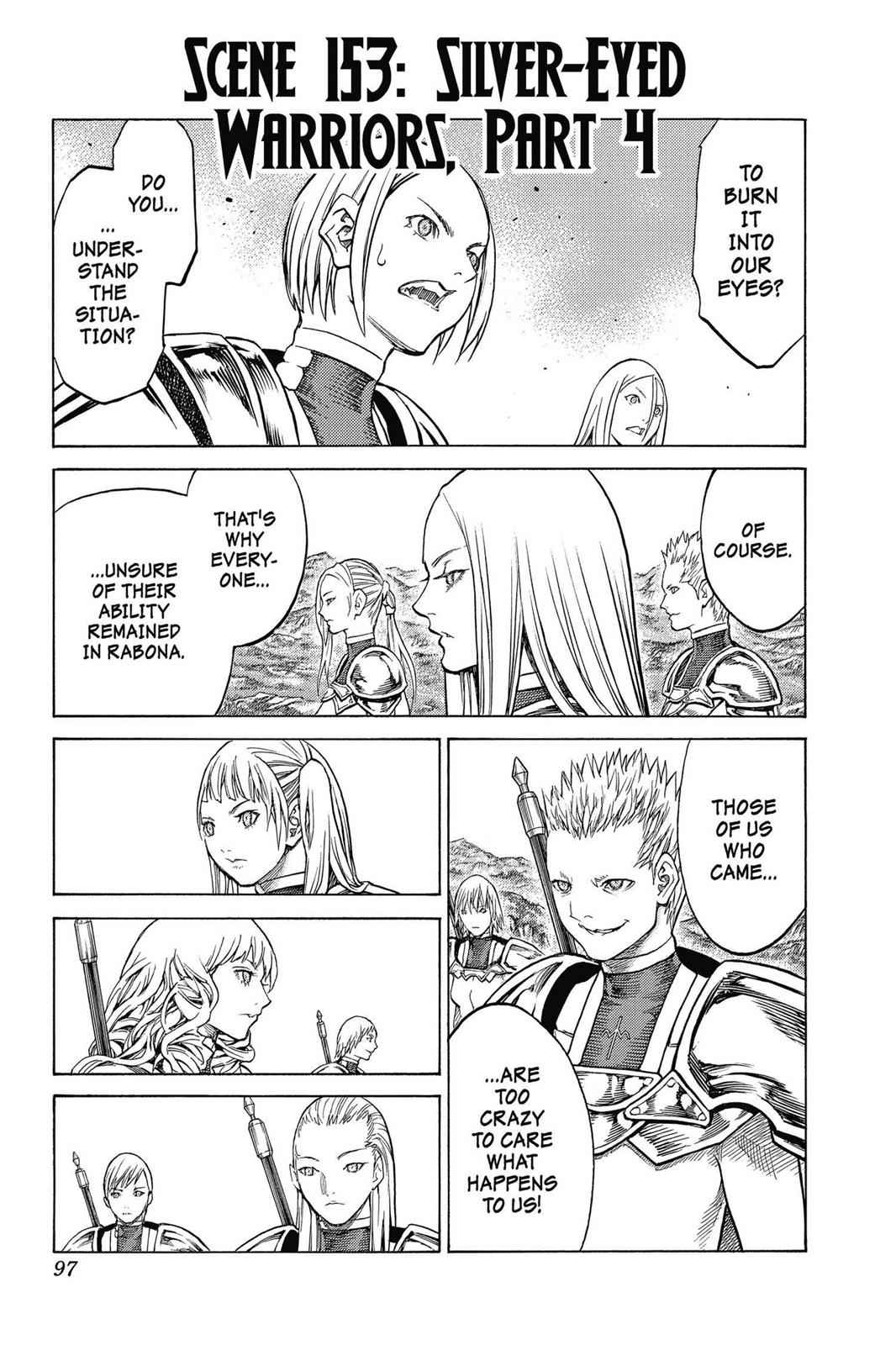 Claymore Chapter 153 Page 1