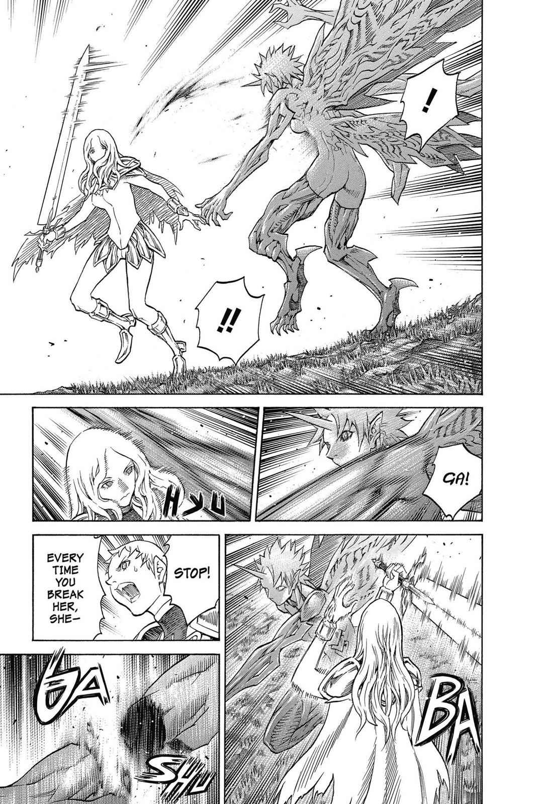 Claymore Chapter 153 Page 10