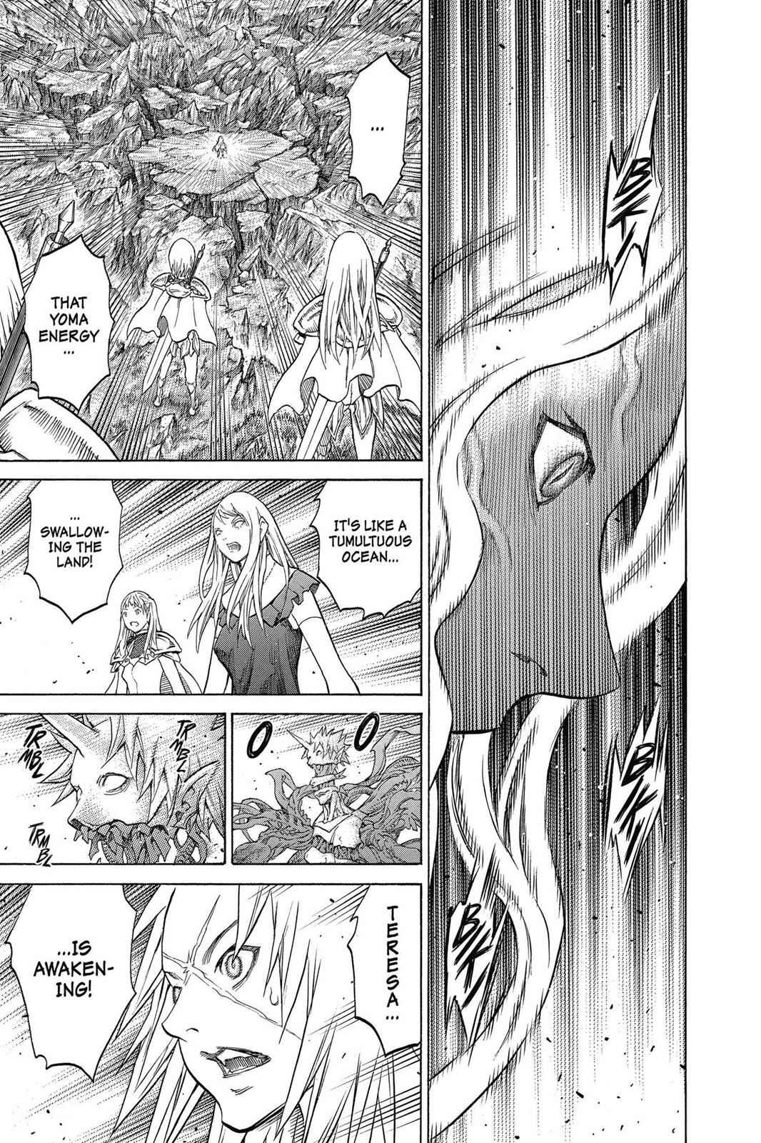Claymore Chapter 153 Page 22