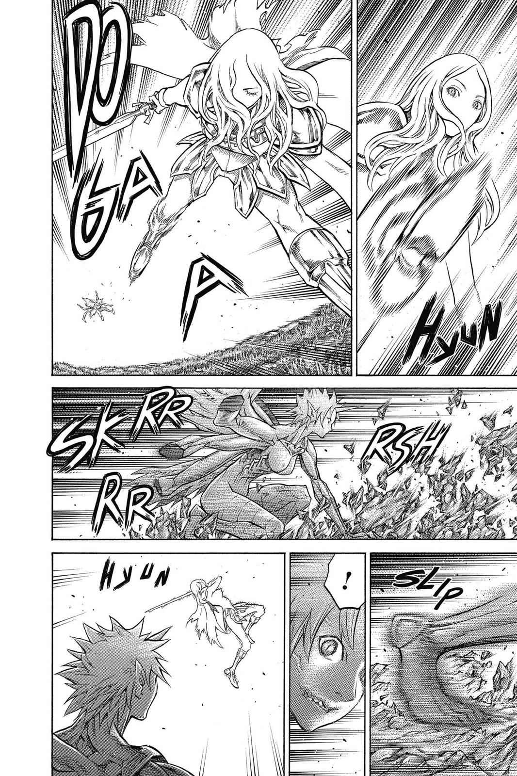 Claymore Chapter 153 Page 4