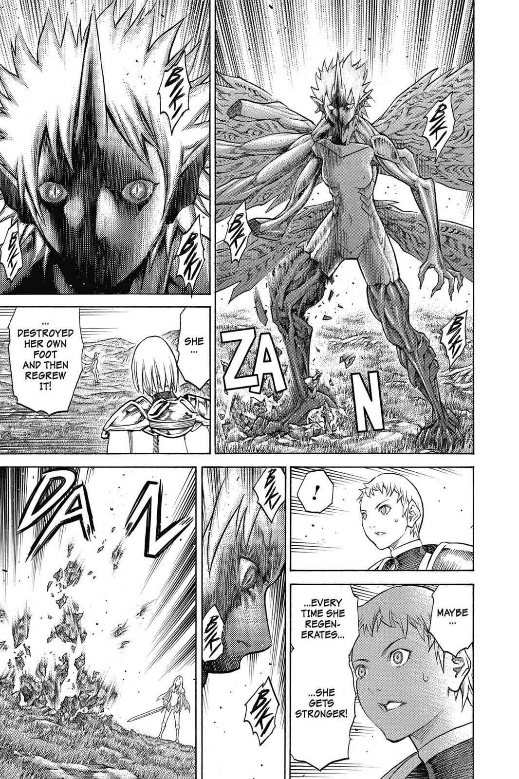 Claymore Chapter 153 Page 7