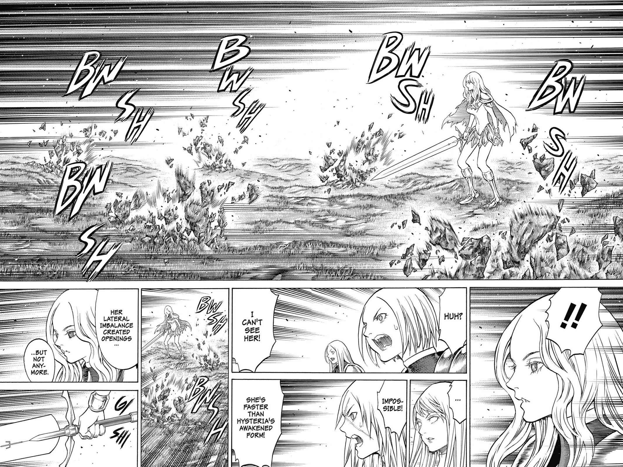 Claymore Chapter 153 Page 8