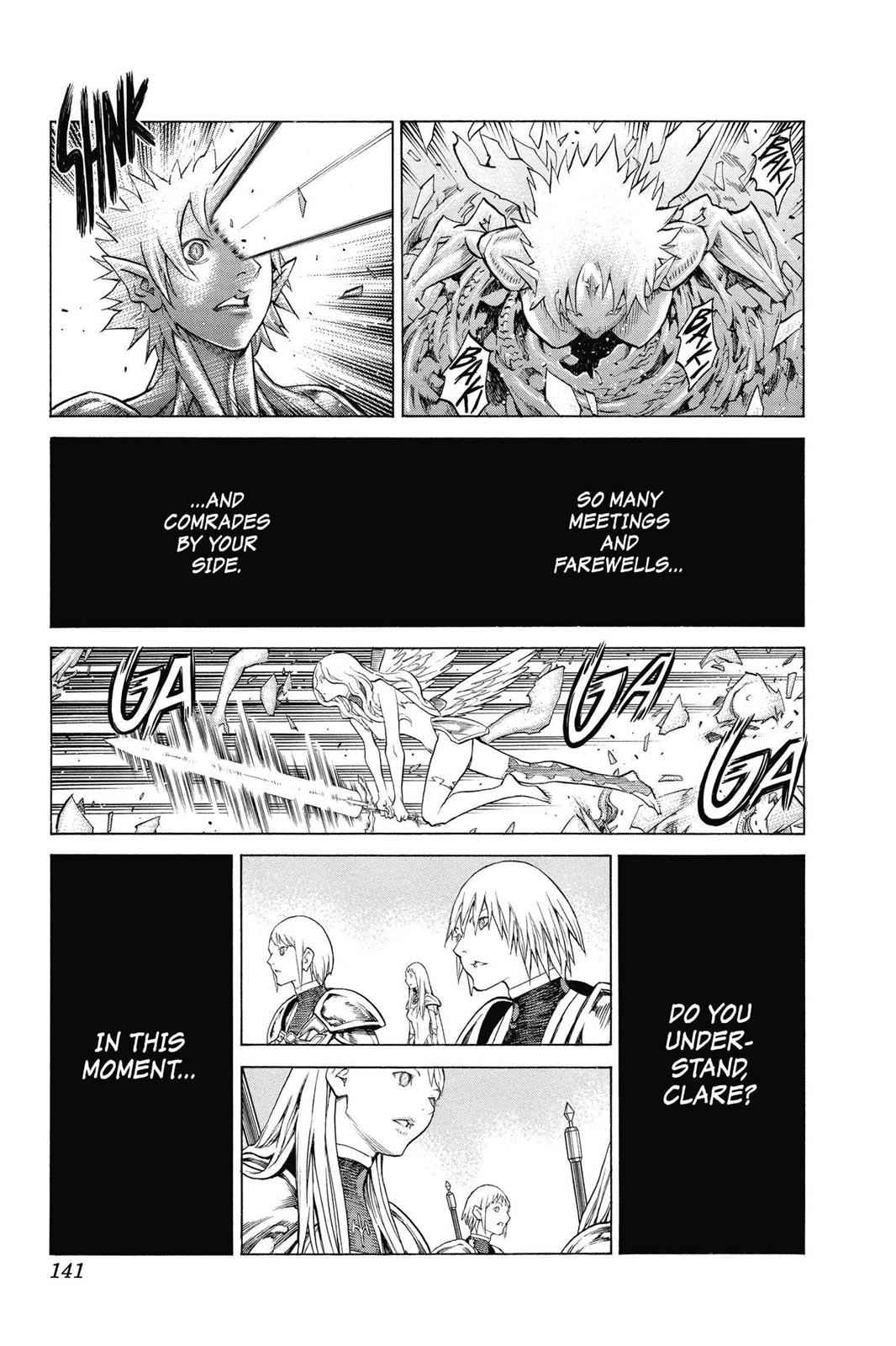 Claymore Chapter 154 Page 11