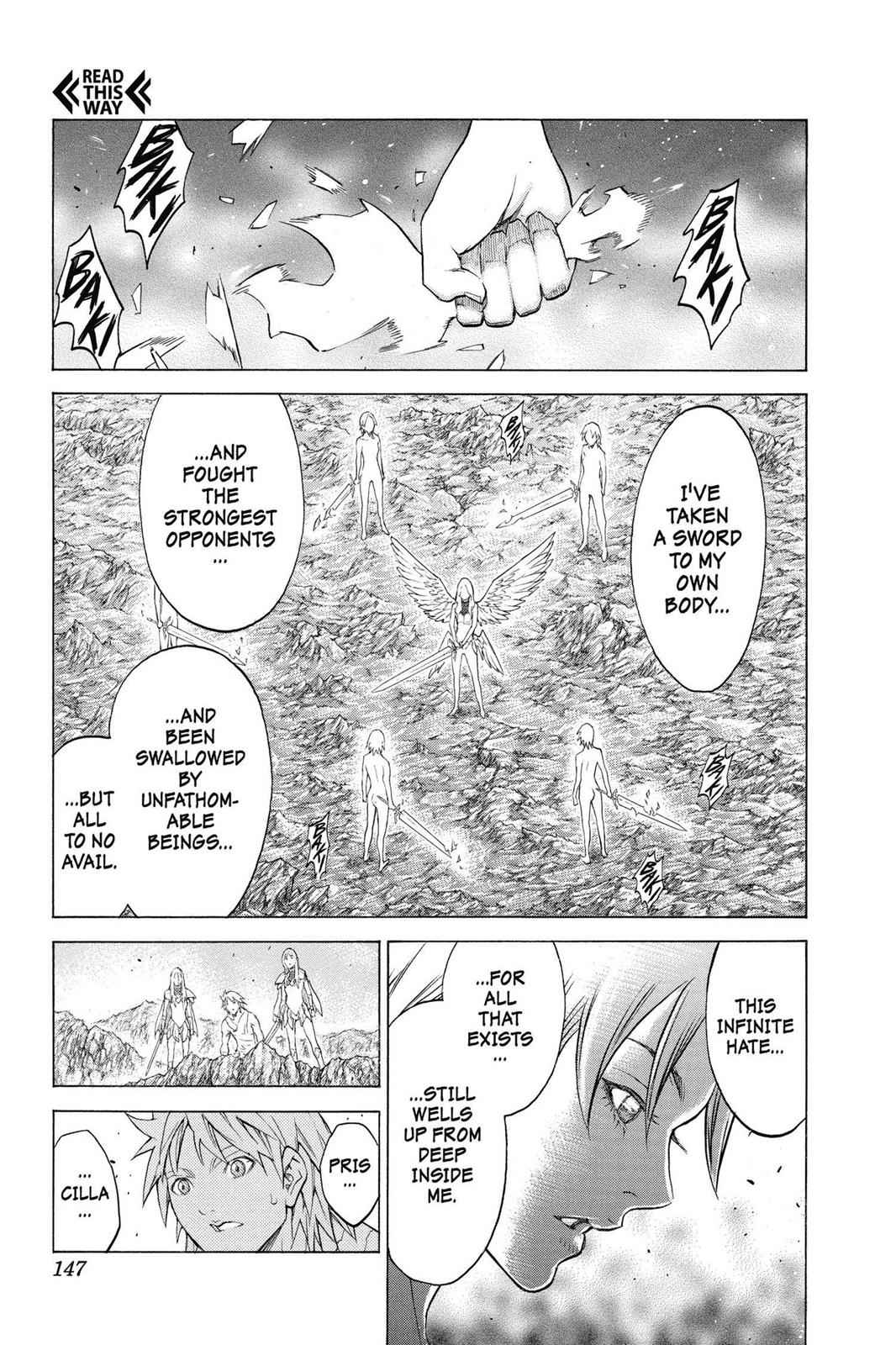 Claymore Chapter 154 Page 15