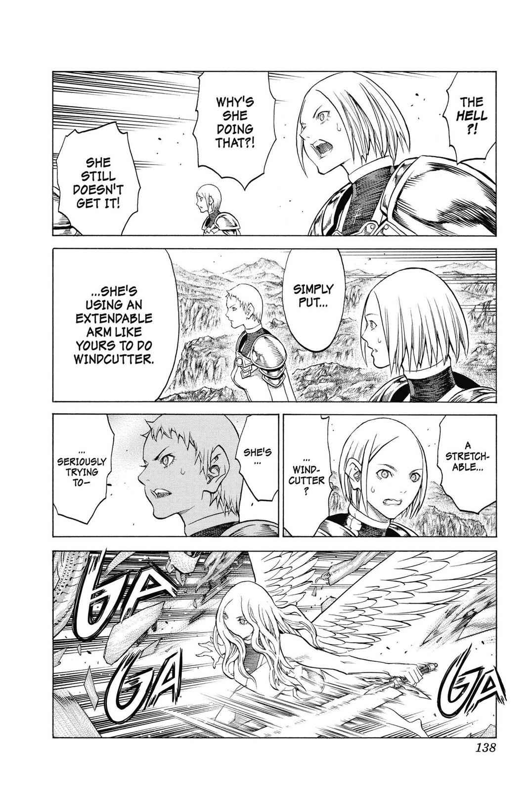 Claymore Chapter 154 Page 8