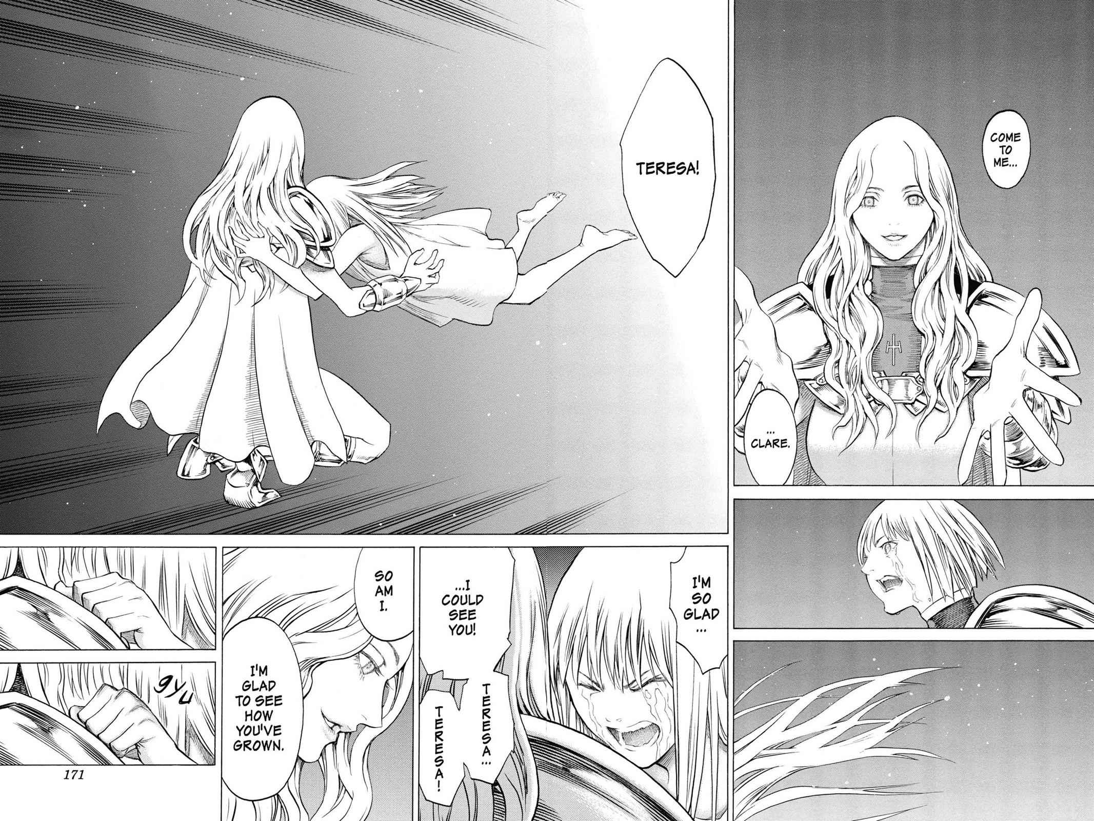 Claymore Chapter 155 Page 10