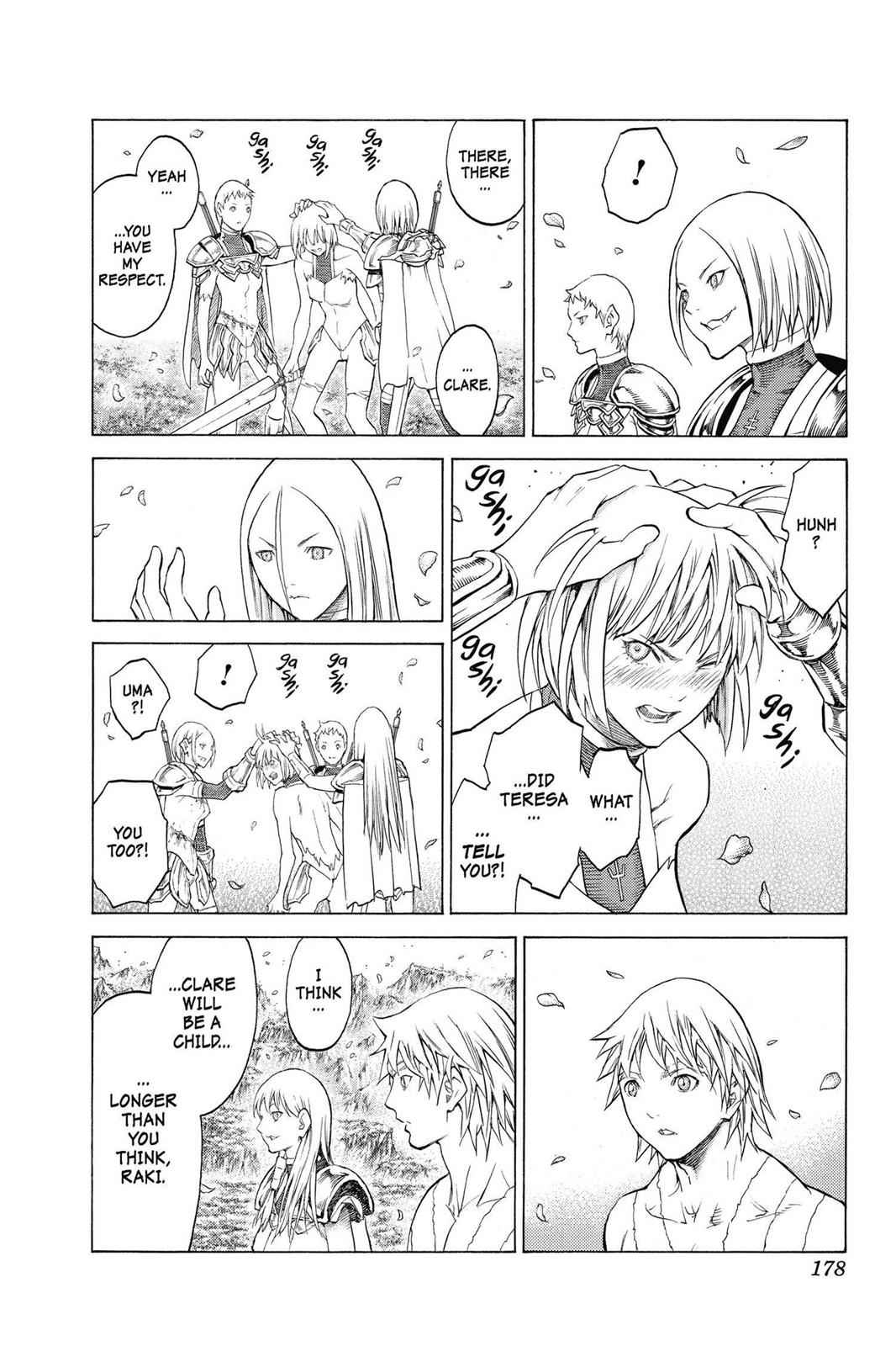 Claymore Chapter 155 Page 15