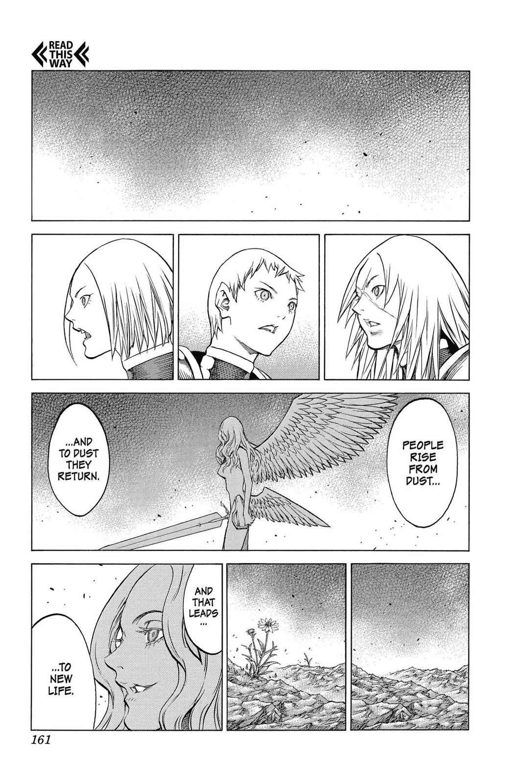 Claymore Chapter 155 Page 2