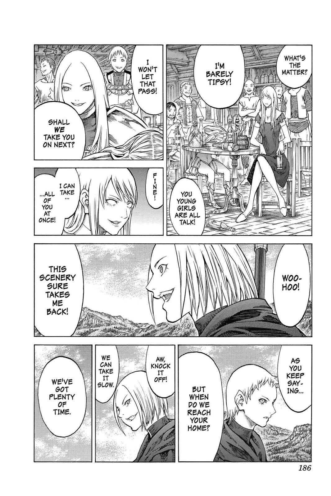Claymore Chapter 155 Page 22